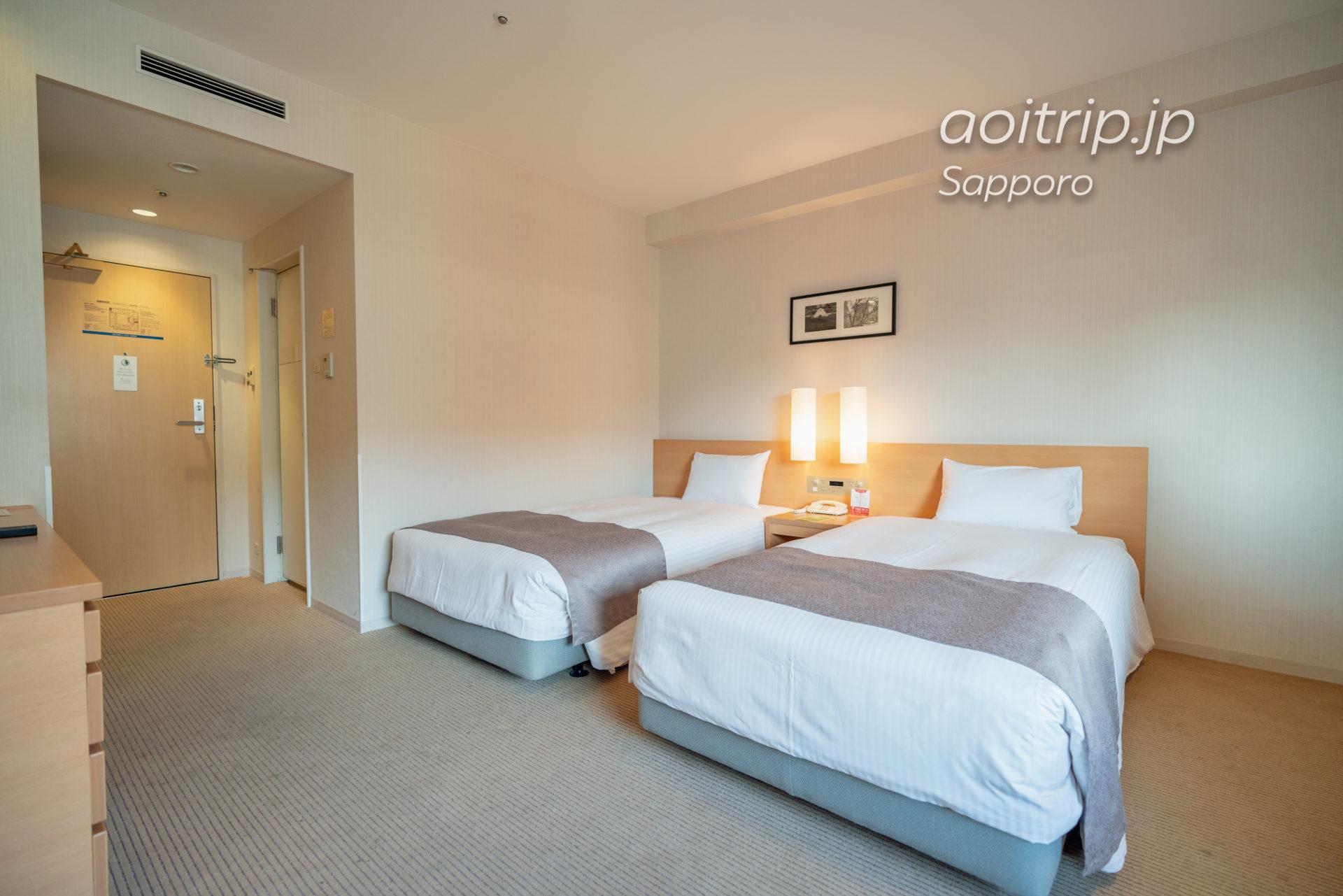 札幌ビューホテルのスタンダードツインルーム Standard Twin Room