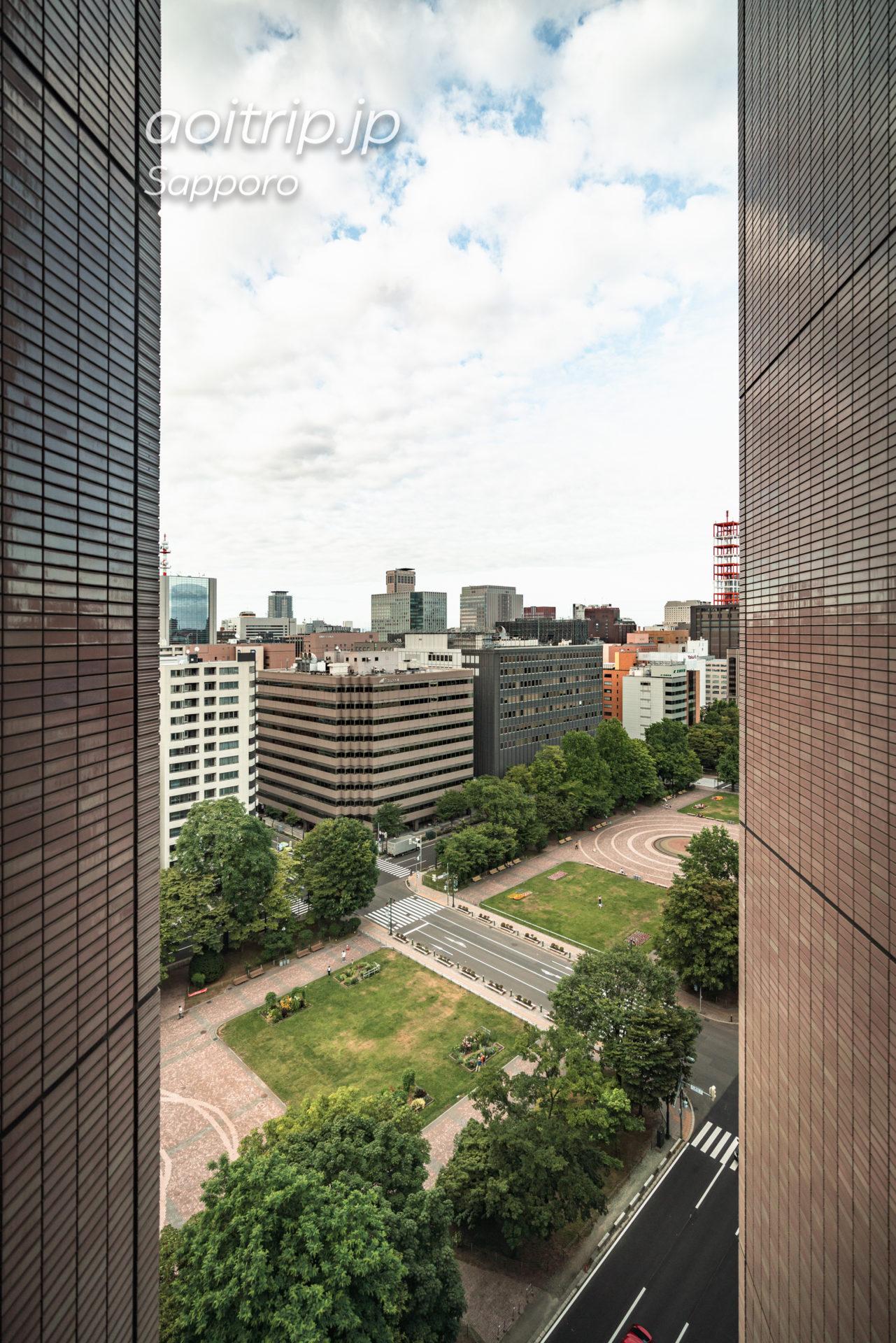 札幌ビューホテル大通公園の眺望