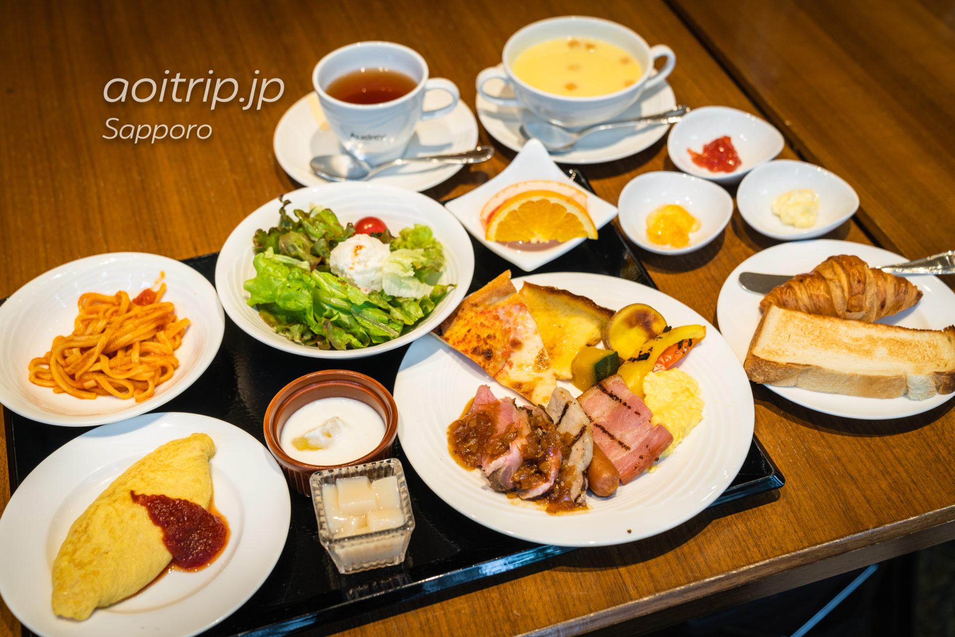 札幌ビューホテルのレストラン オードリーの朝食(洋食)