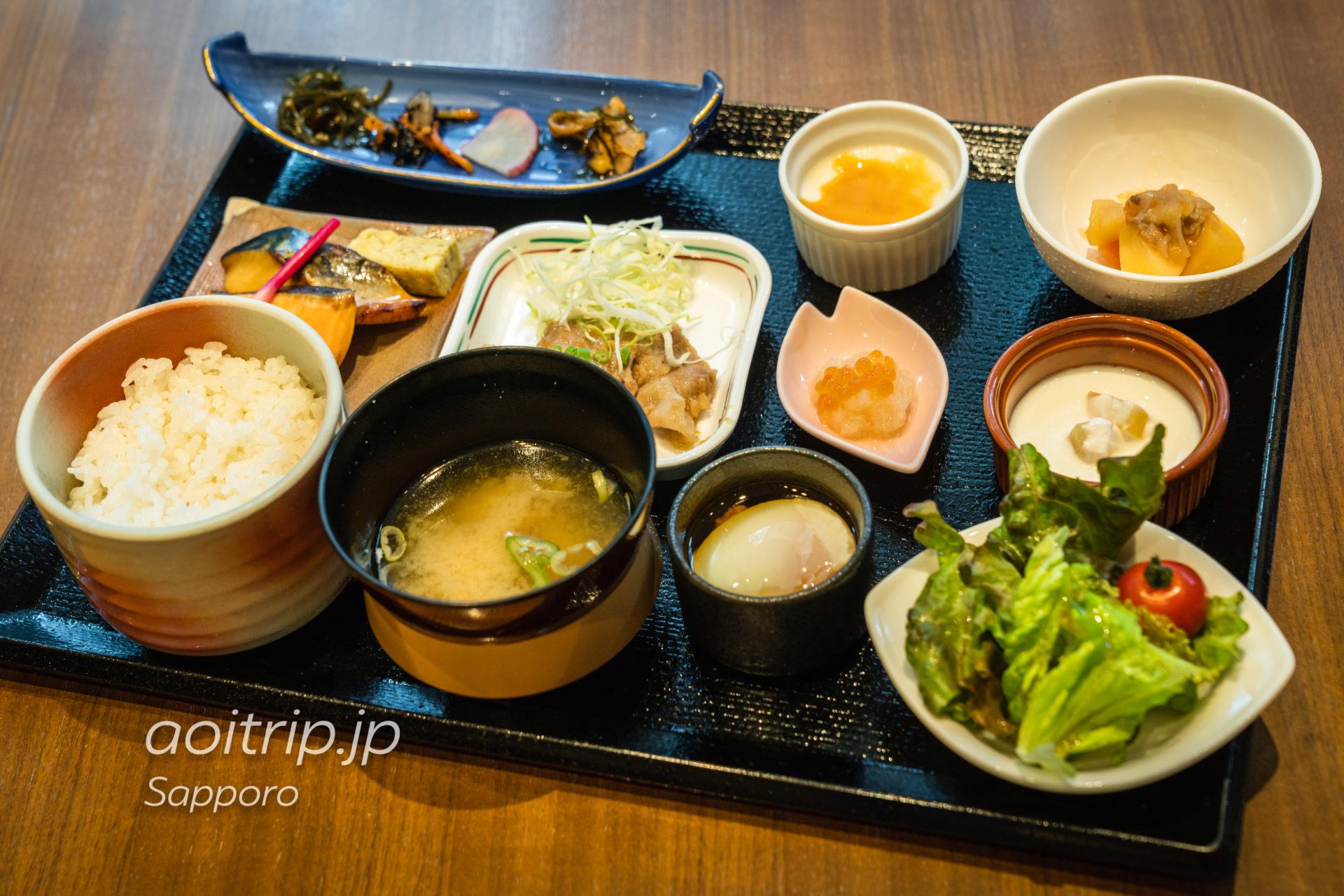 札幌ビューホテルのレストラン オードリーの朝食(和定食)