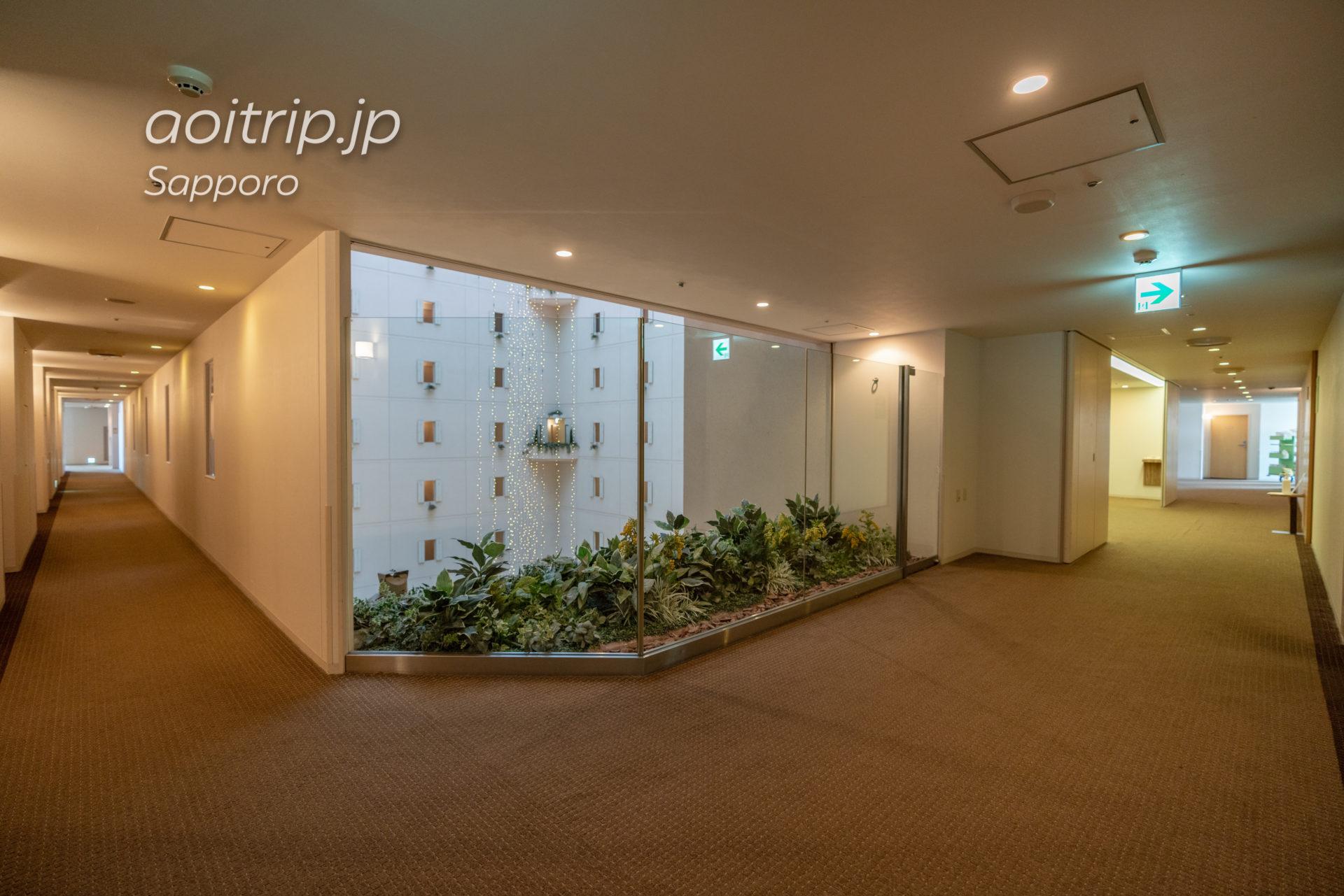 札幌ビューホテルの内廊下