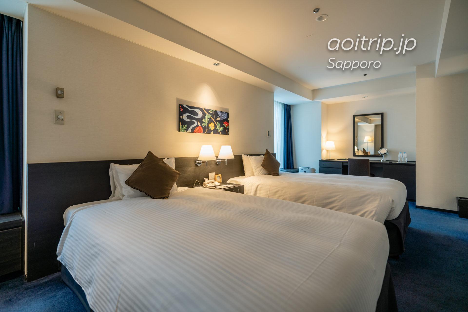 ス札幌グランドホテルの客室スタンダードデラックスツインルーム