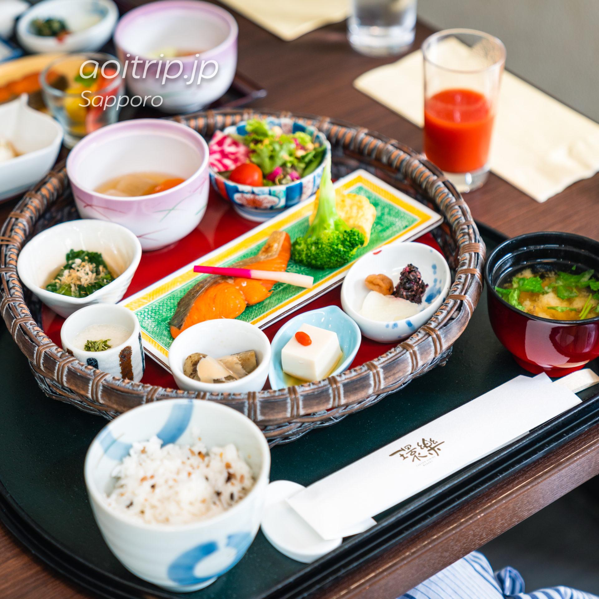 札幌グランドホテルの朝食 和食