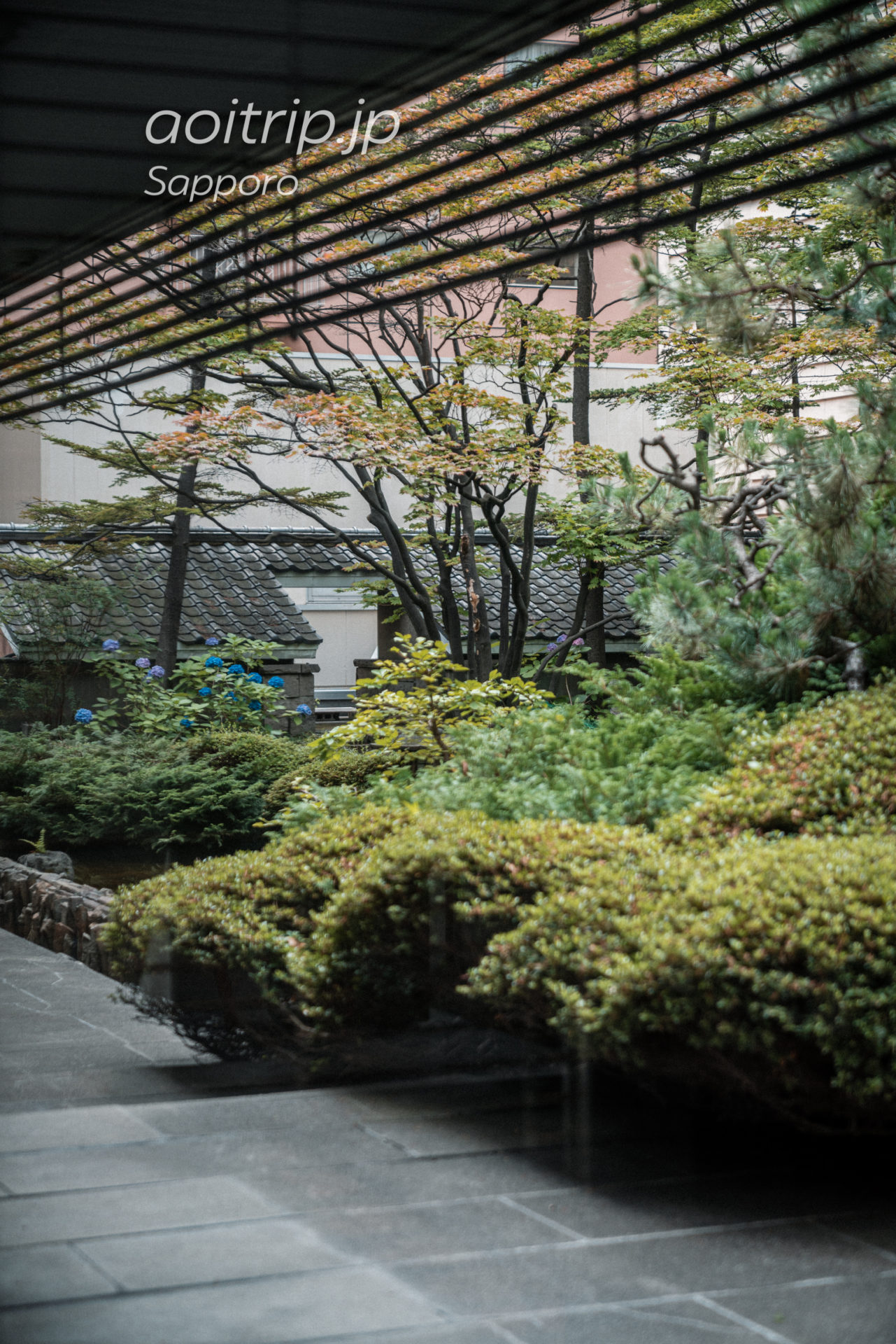 札幌グランドホテル 日本国内初の屋上庭園