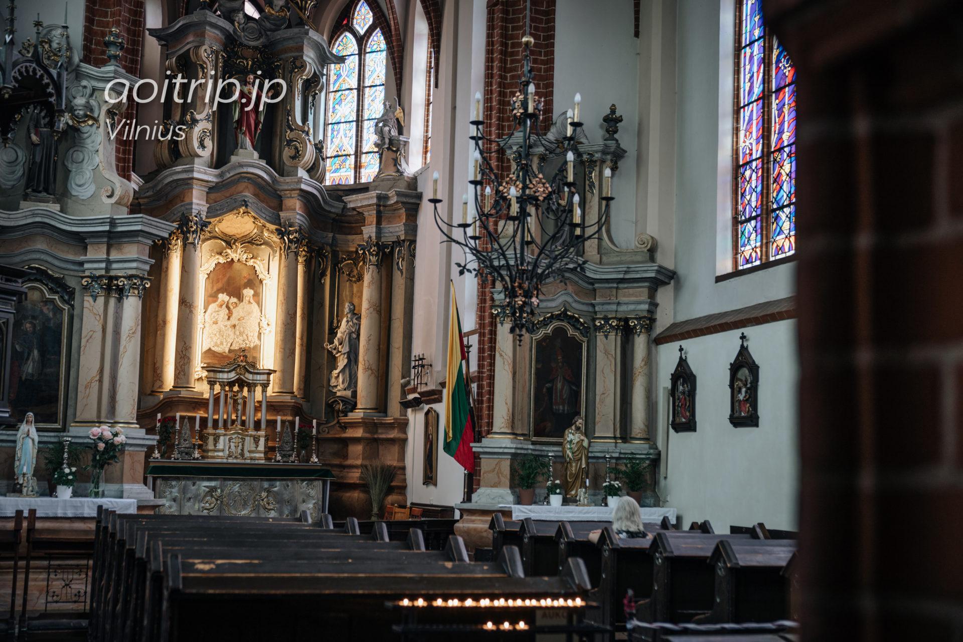 ヴィリニュス 聖アンナ教会 St Anne's Church Vilnius