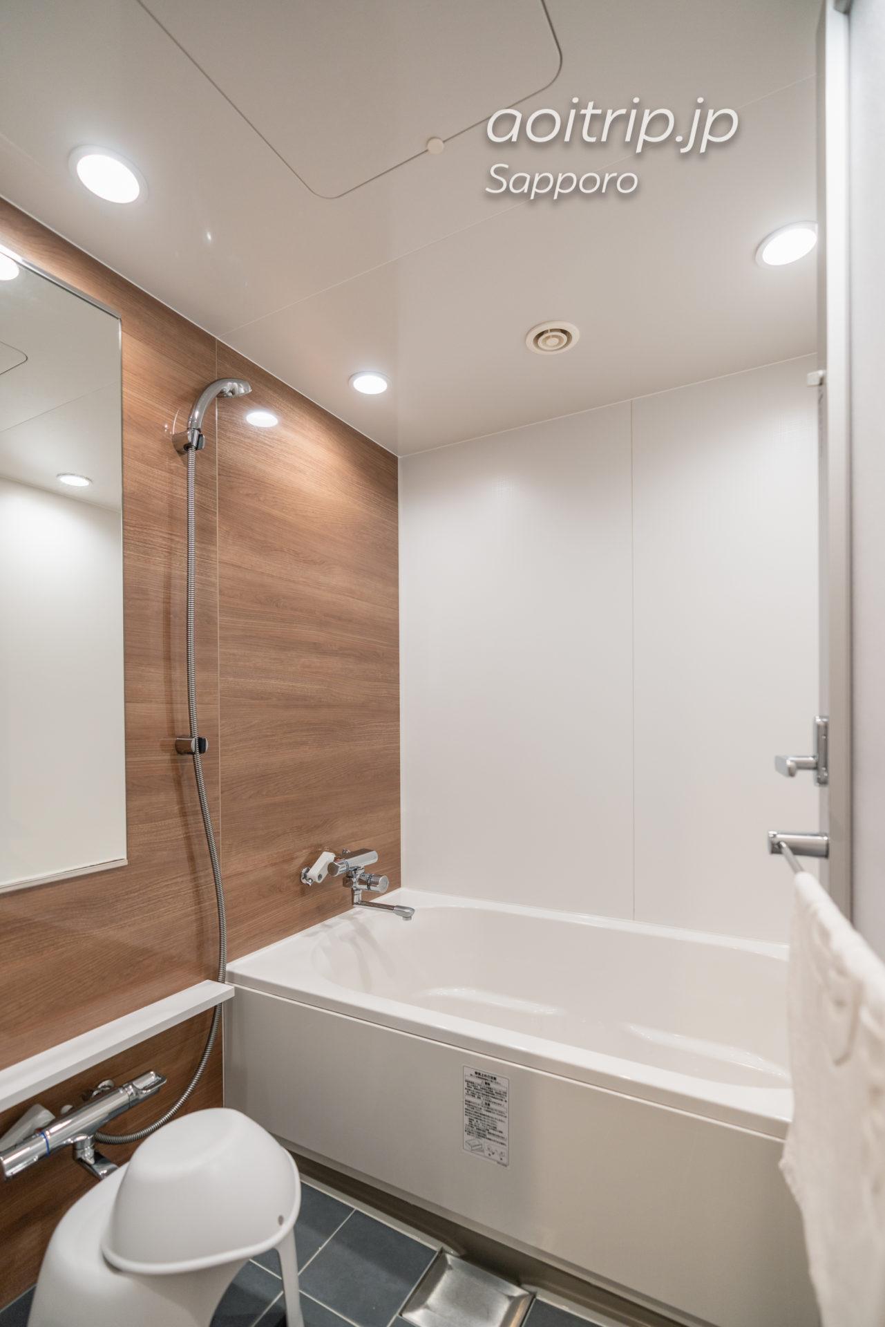 JRイン札幌南口プレミアツインのバスルーム