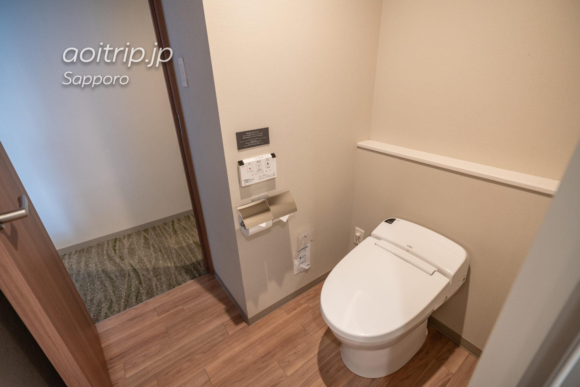 JRイン札幌南口プレミアツインのトイレ