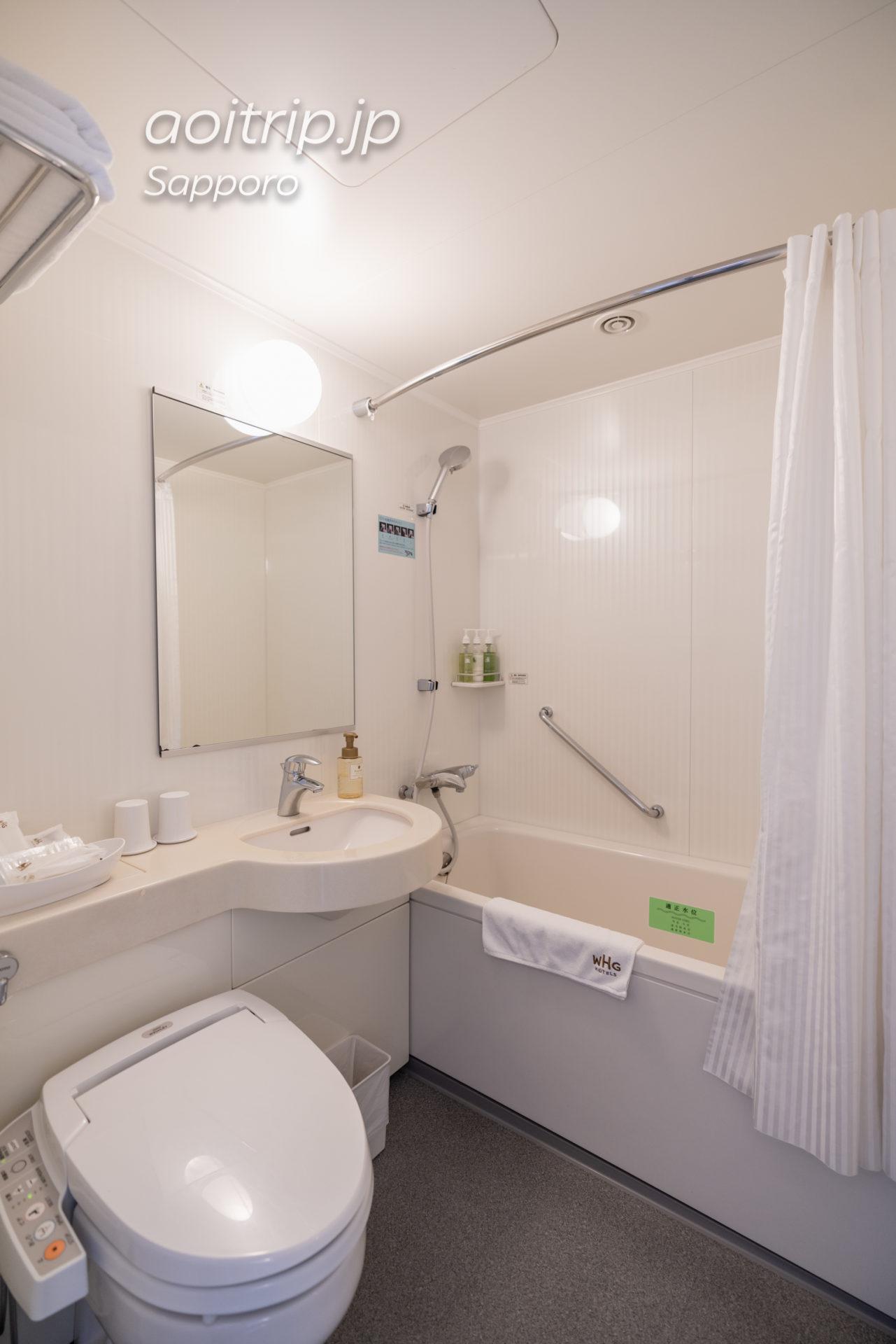 ホテル グレイスリー札幌のバスルーム