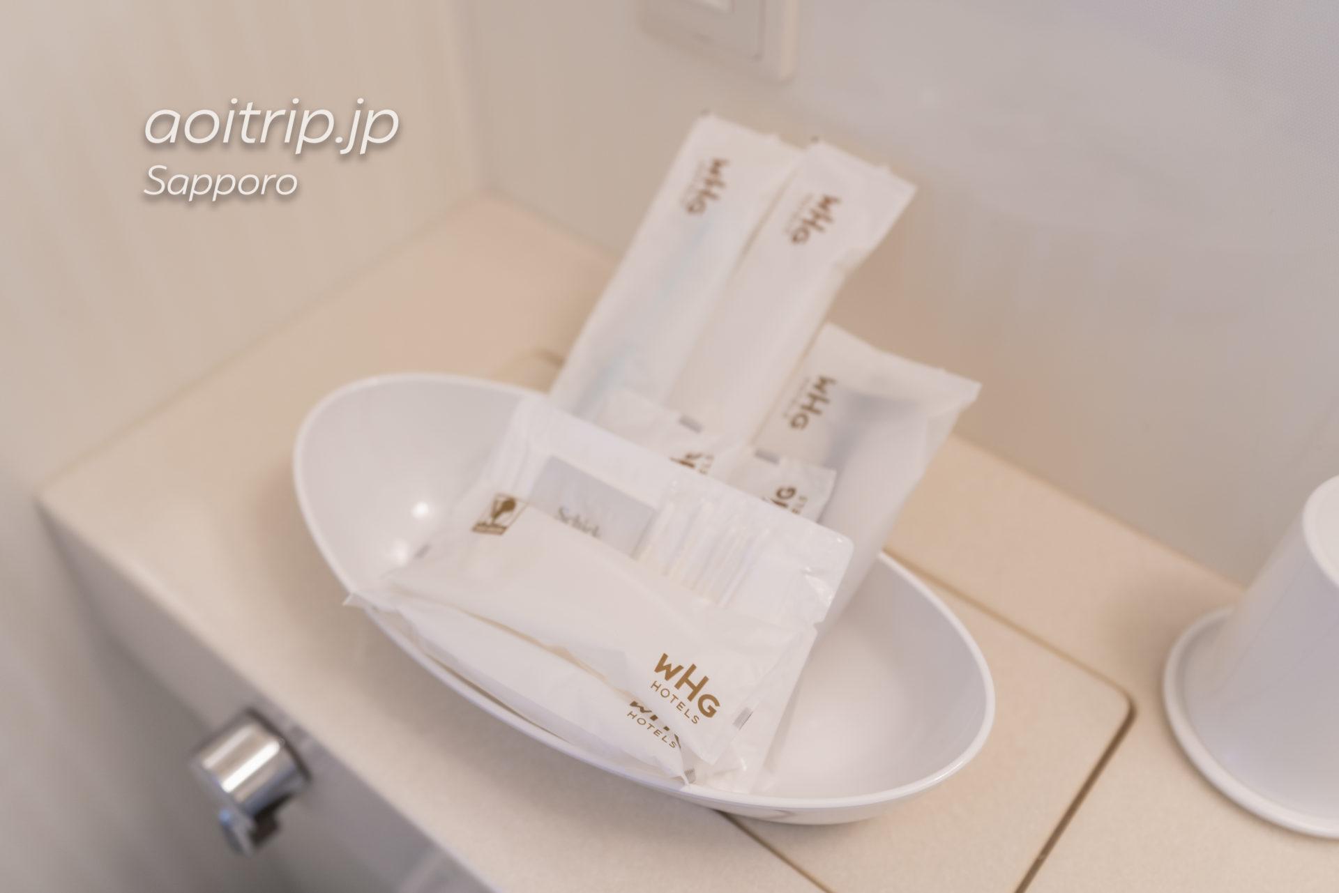 ホテル グレイスリー札幌のアメニティ