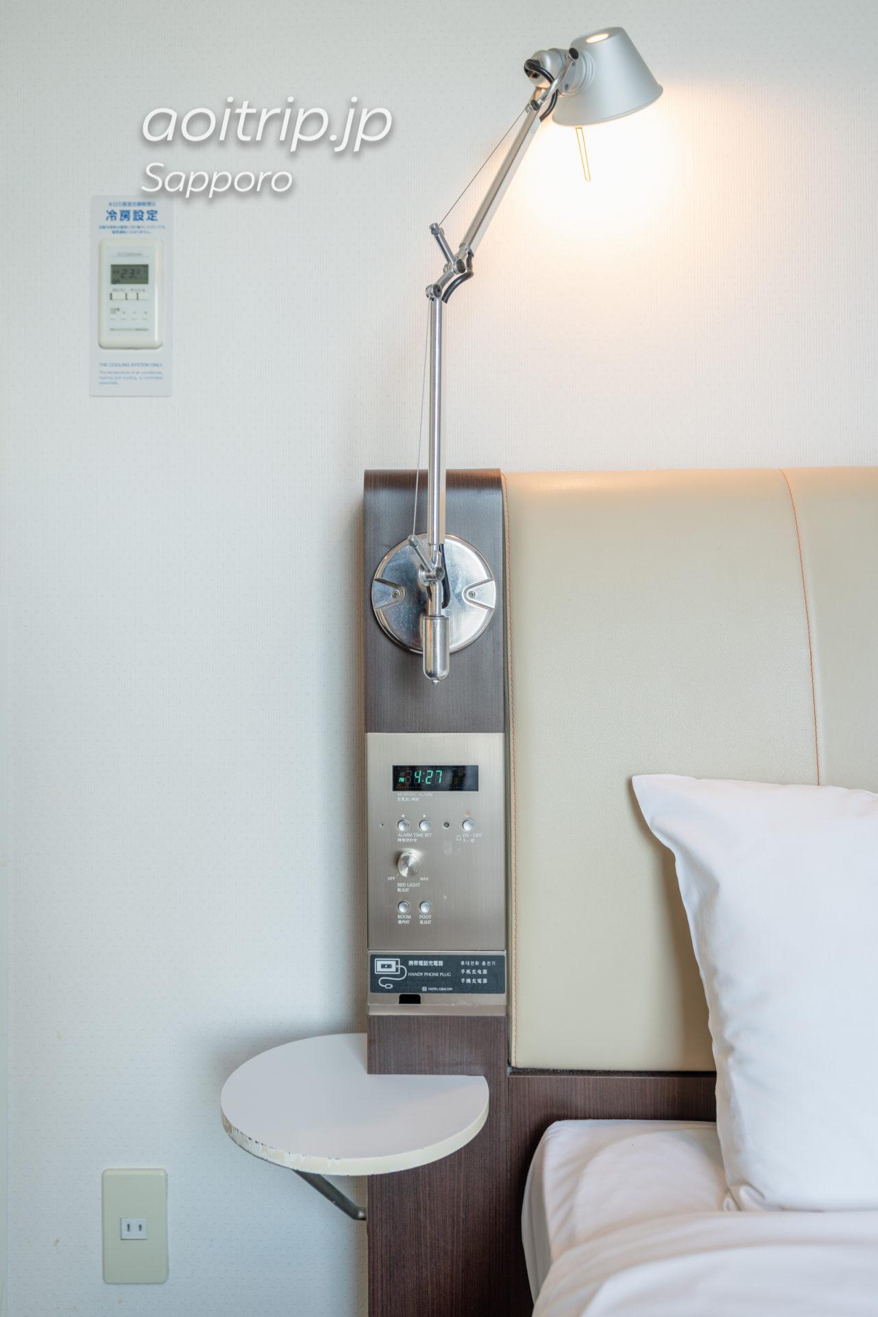 ホテル グレイスリー札幌 Hotel Gracery Sapporo スタンダードセミダブルルーム Standard Semi Double Room
