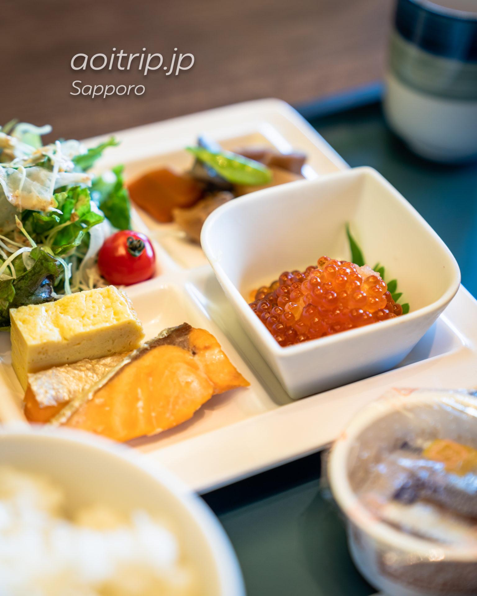 ホテル グレイスリー札幌の朝食(和食)