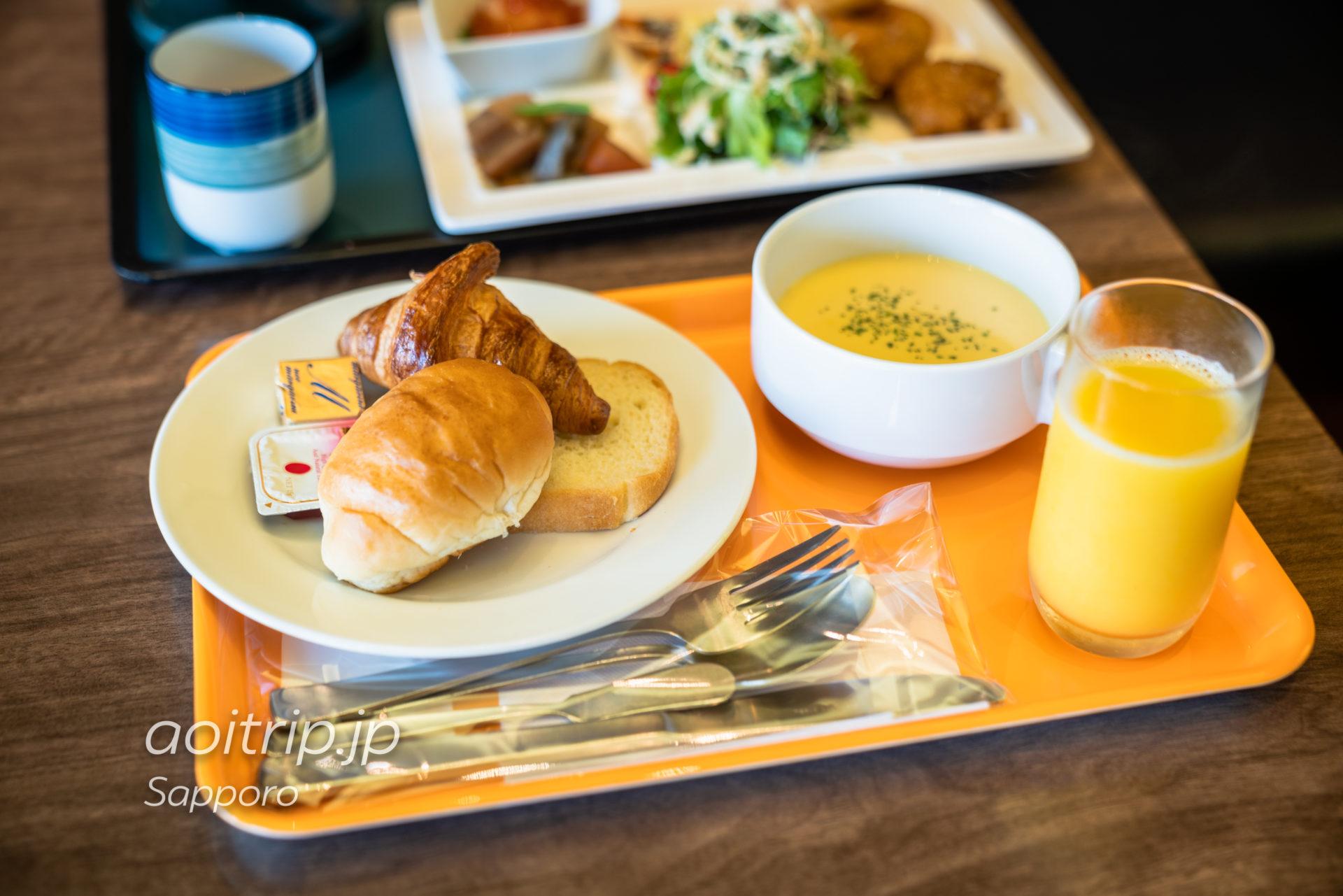 ホテル グレイスリー札幌の朝食(洋食)