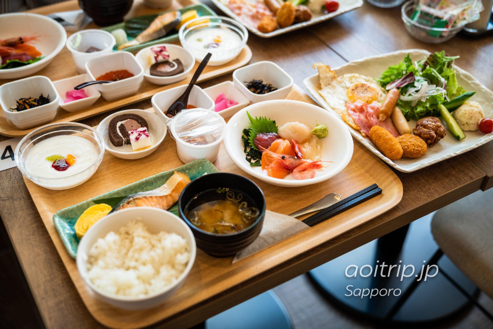レンブラントスタイル札幌の朝食