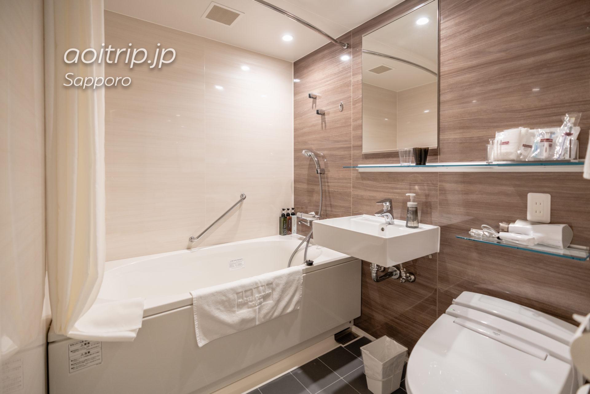 三井ガーデンホテル札幌ウエスト バスルーム