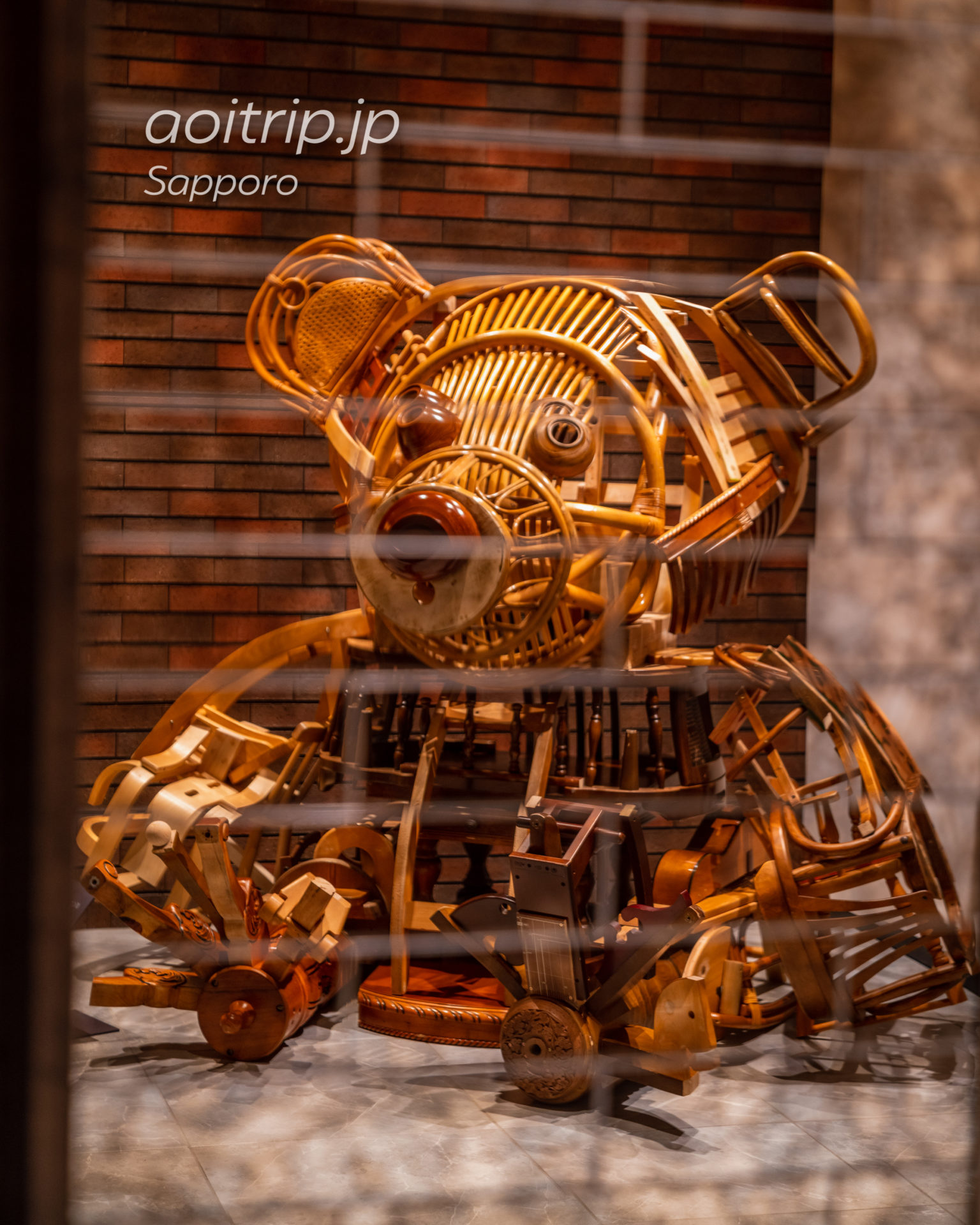 三井ガーデンホテル札幌ウエストの熊さん