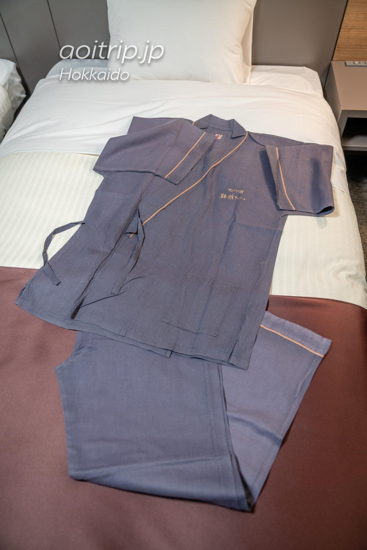 サロマ湖 鶴雅リゾートのパジャマ(館内着)