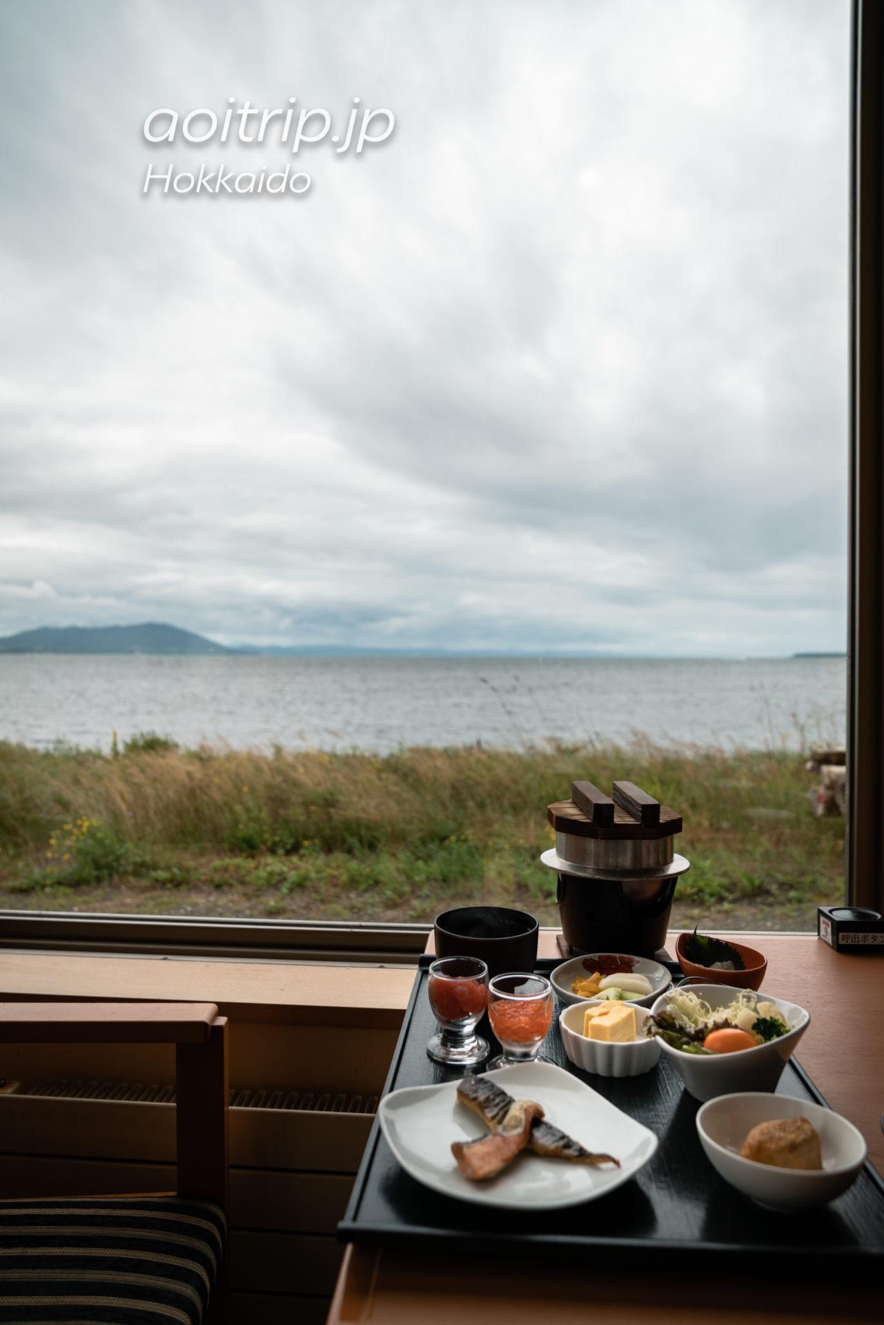 サロマ湖 鶴雅リゾートの朝食