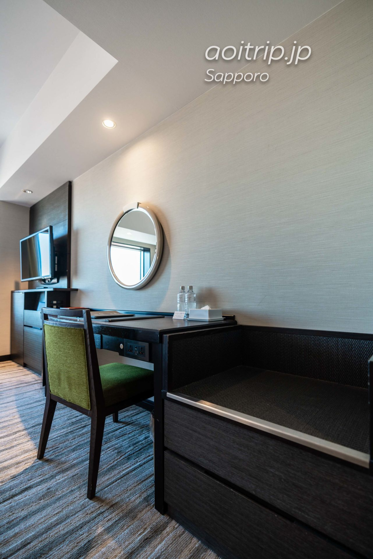 JRタワーホテル日航札幌のモデレートツインルーム客室