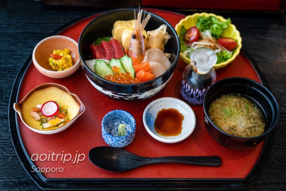 JRタワーホテル日航札幌の35Fレストラン丹頂の朝食
