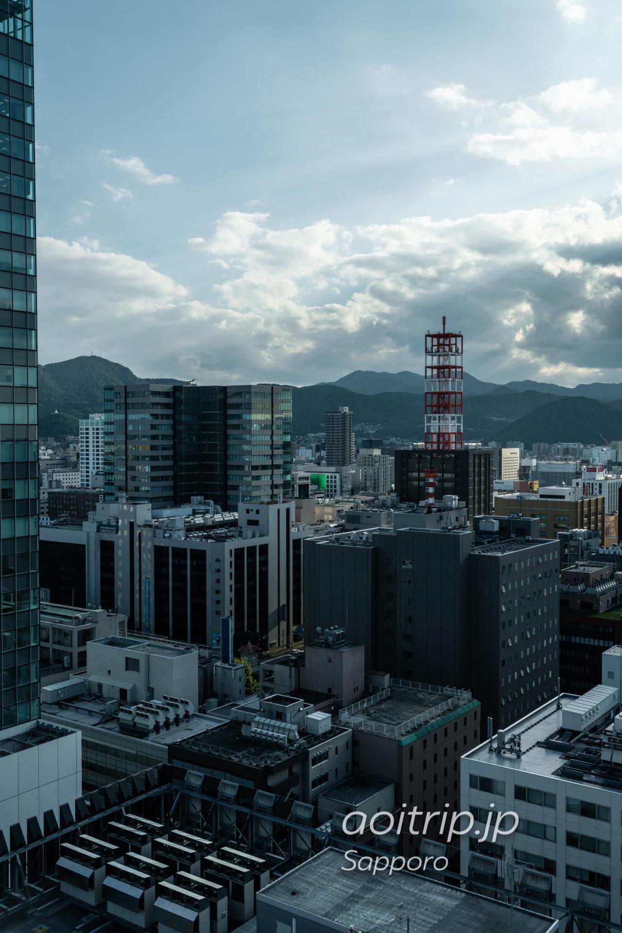 ホテル モントレ エーデルホフ札幌の客室の眺望