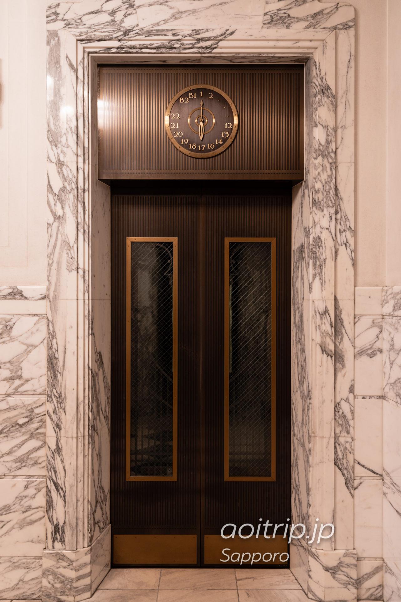 ホテル モントレ エーデルホフ札幌のエレベーター