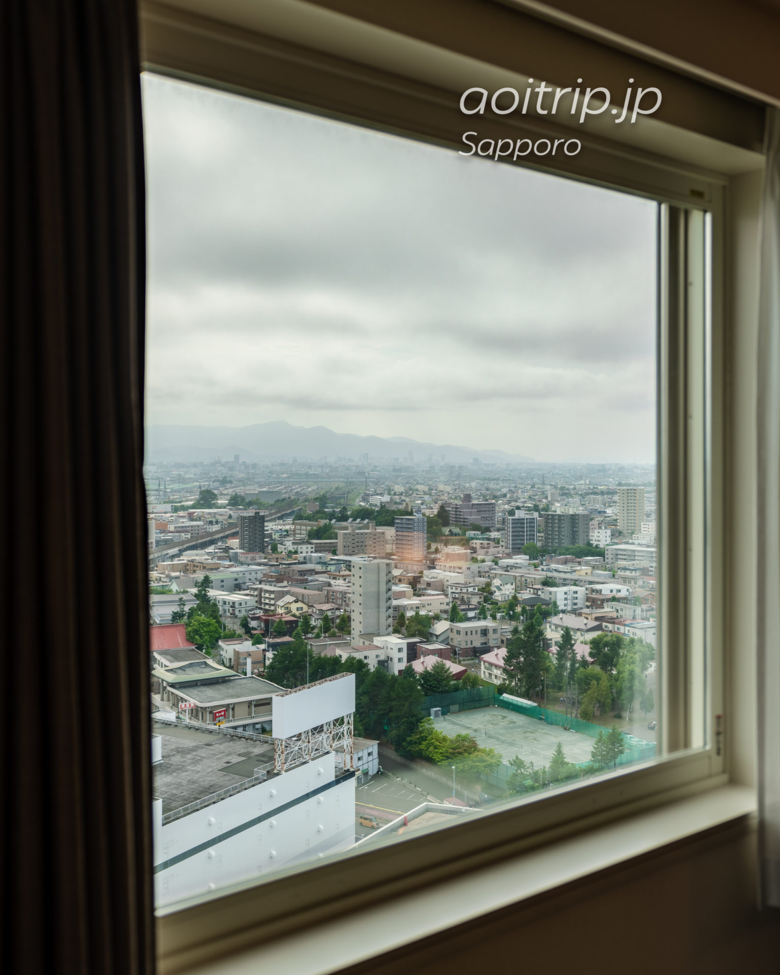 ホテルエミシア札幌の眺望
