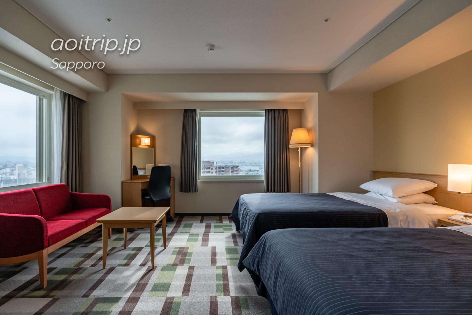ホテルエミシア札幌 スタンダードコーナーツインルーム Standard Corner Twin Room