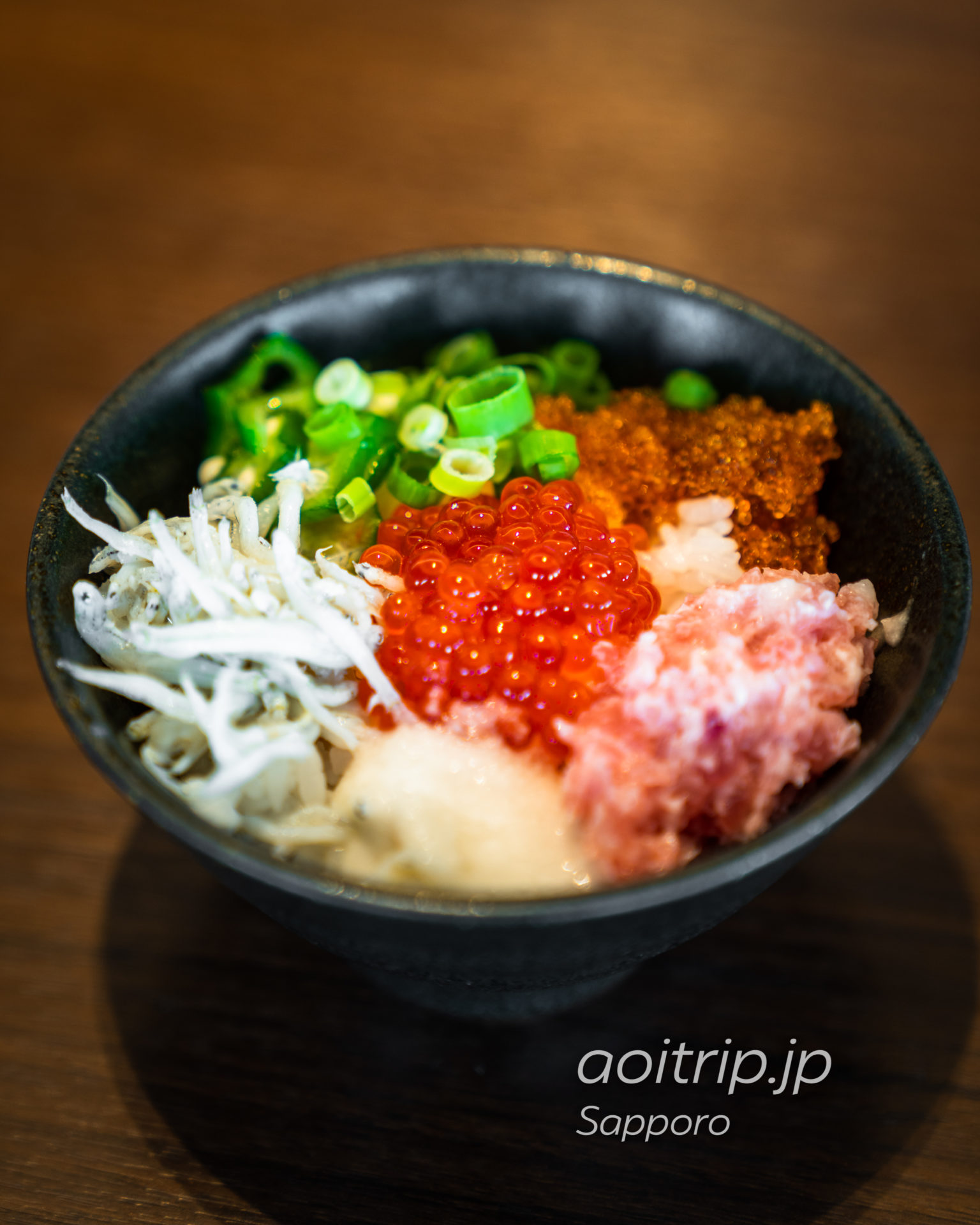 ホテルエミシア札幌の朝食 海鮮丼