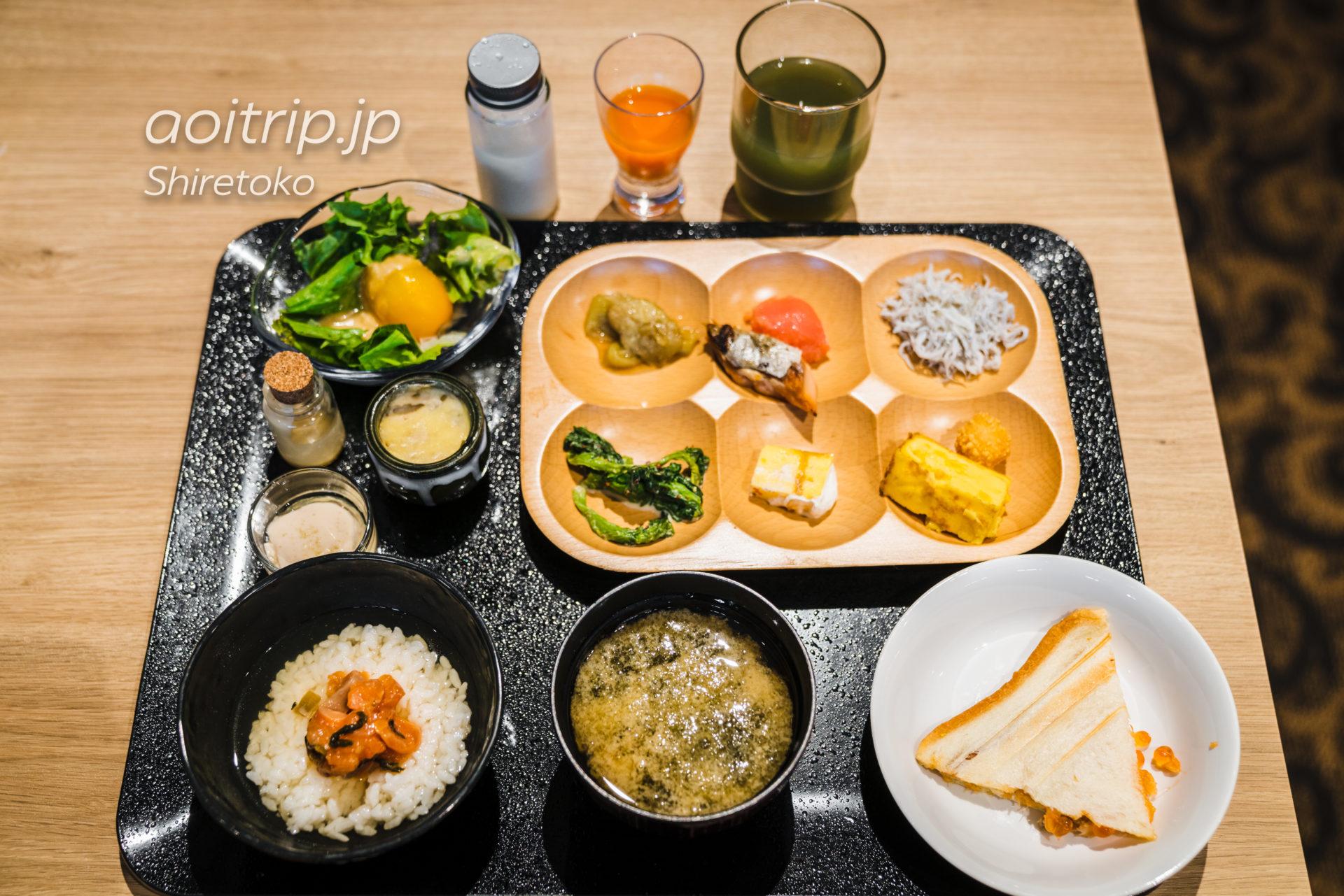 KIKI知床 ナチュラルリゾートの朝食