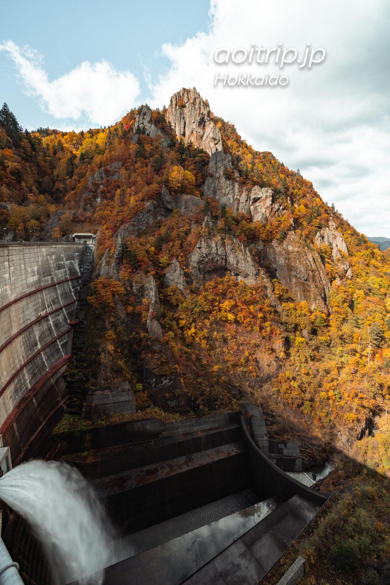 豊平峡の紅葉 Hoheikyo Dam