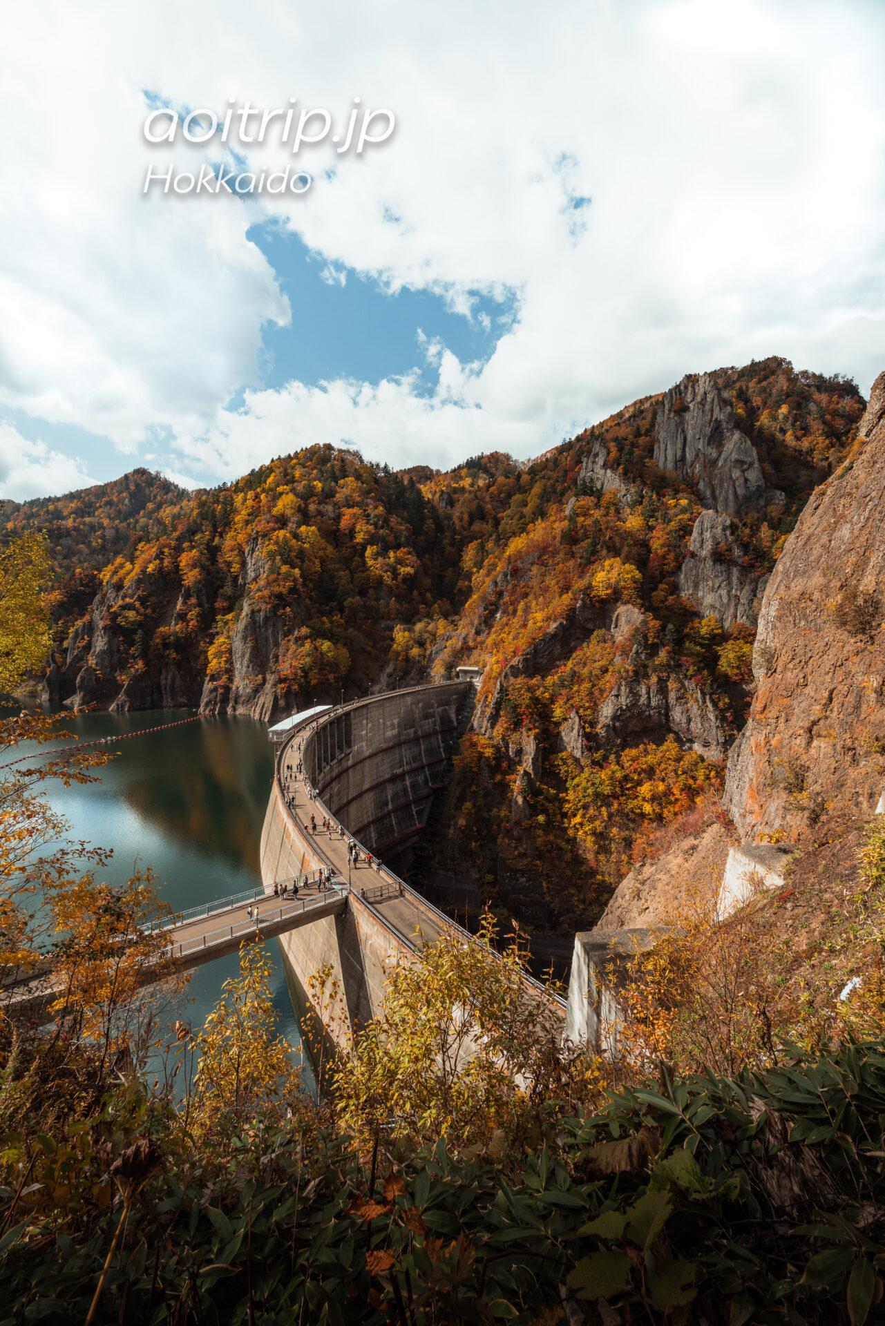 大自然の造形美と人間の技術・執念が画角の中に一同に介する、札幌市の豊平峡ダム。
