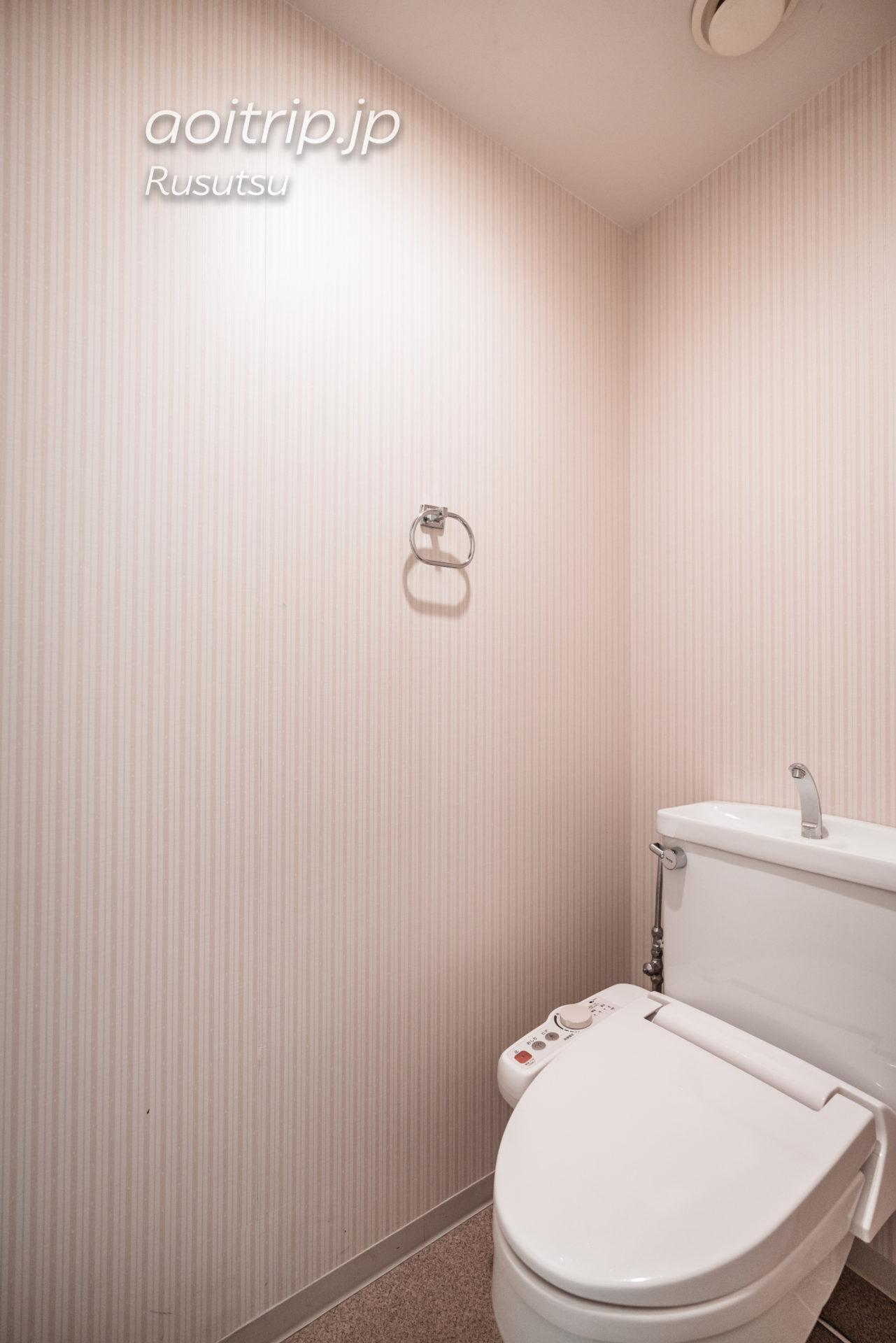 ウェスティン ルスツリゾート The Westin Rusutsu Resort スイートのトイレ