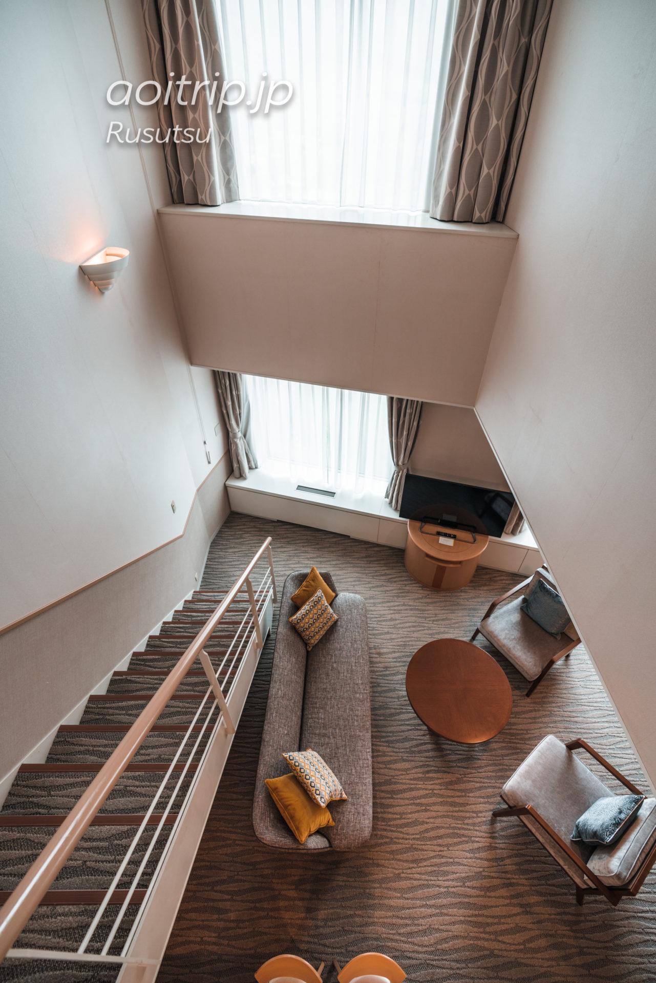 ウェスティン ルスツリゾート The Westin Rusutsu Resort スイートルームの客室