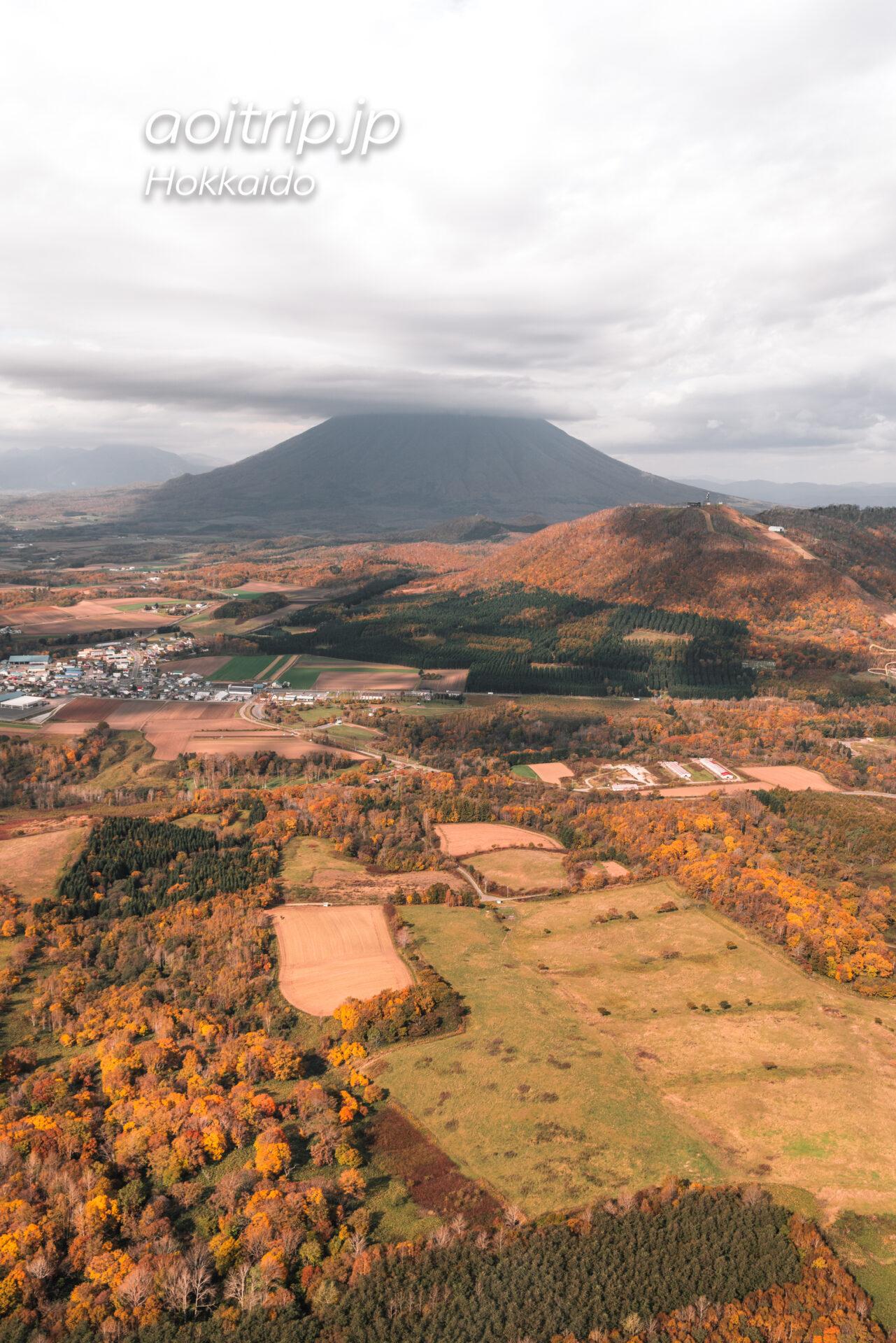 ルスツリゾート ヘリコプター遊覧飛行 羊蹄山