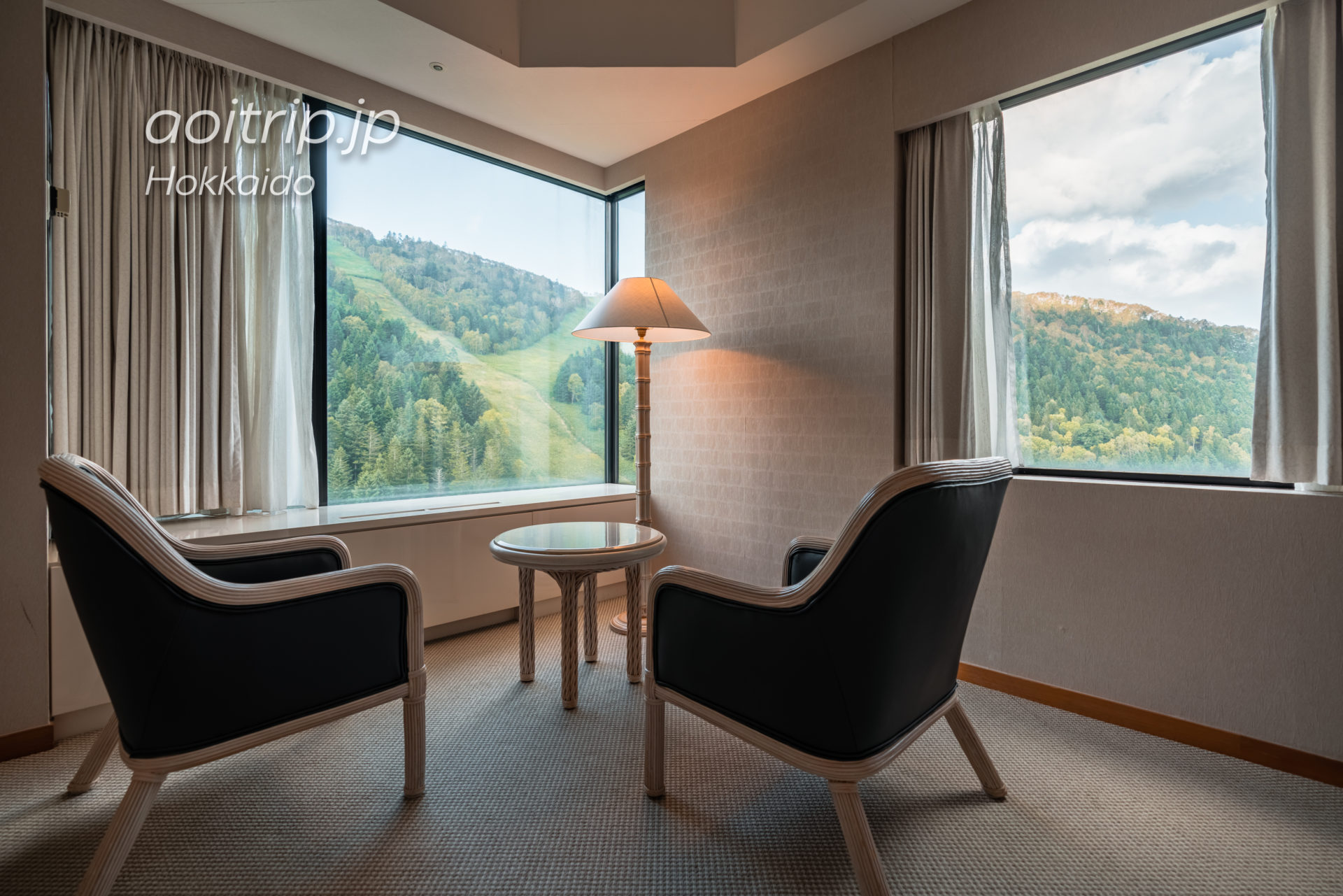 星野リゾート リゾナーレトマム 宿泊記 Hoshino Risonare Tomamu スイートツインルームの客室