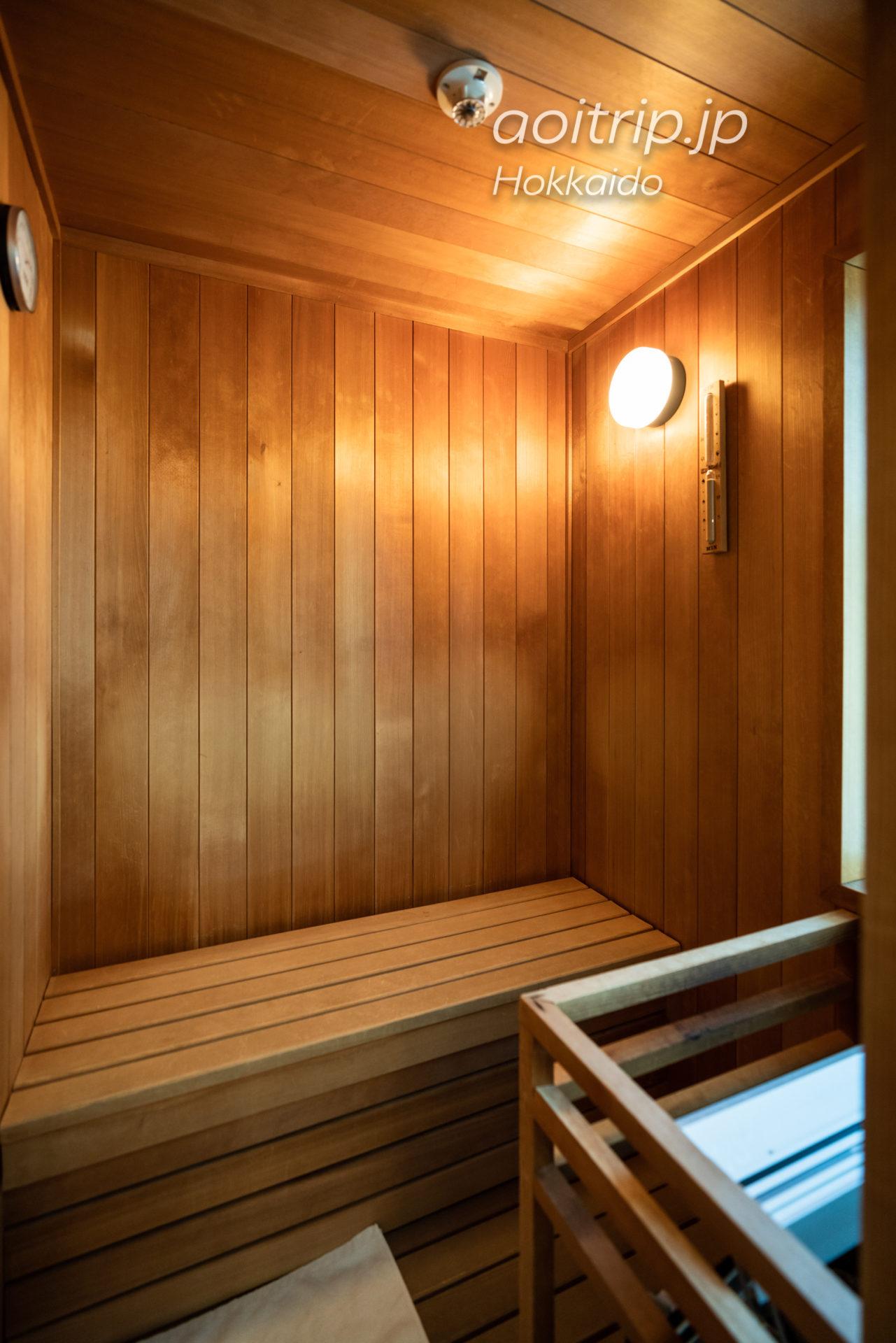 星野リゾート リゾナーレトマム 宿泊記 Hoshino Risonare Tomamu スイートツインルームのプライベートサウナ