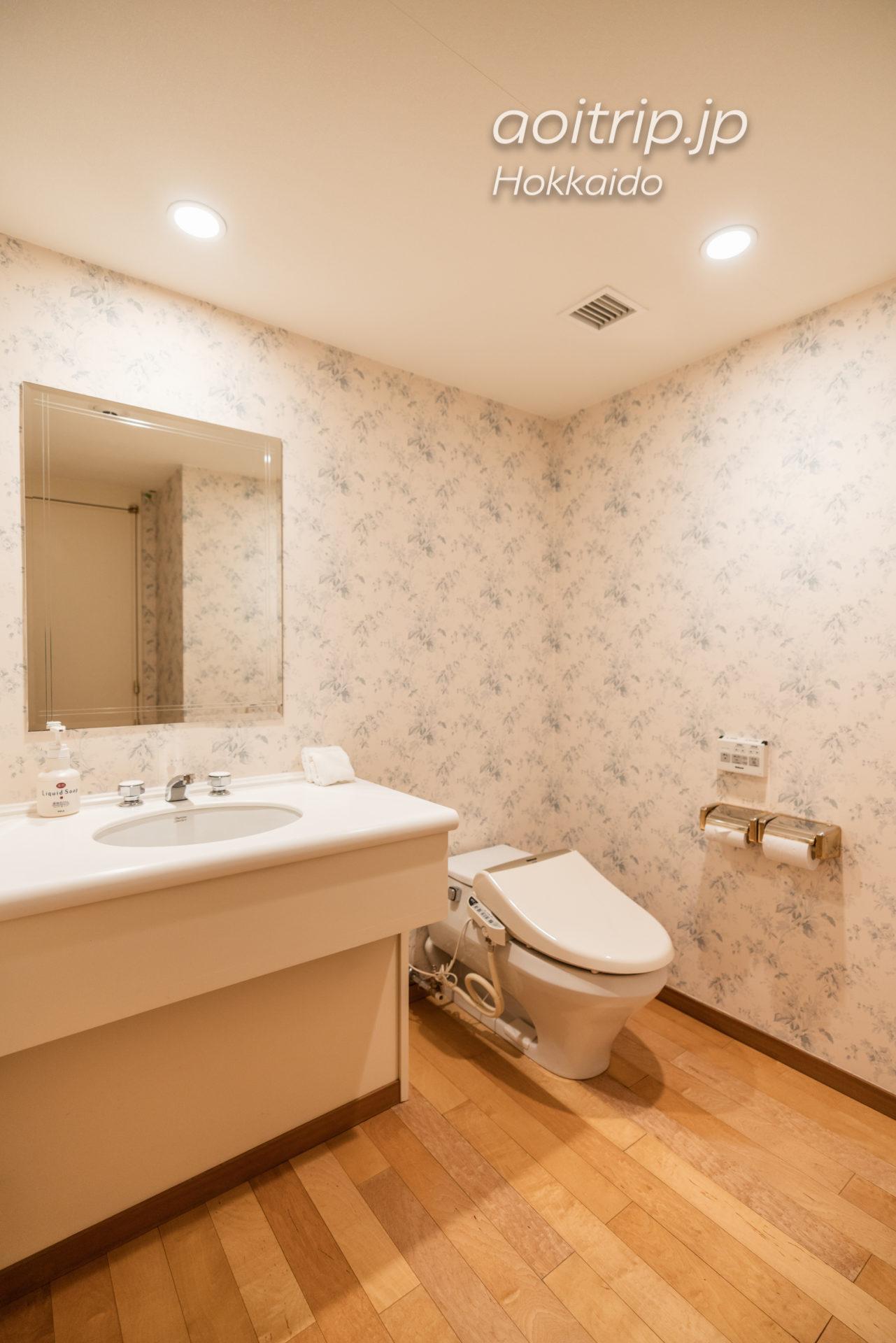 星野リゾート リゾナーレトマム 宿泊記 Hoshino Risonare Tomamu トイレ