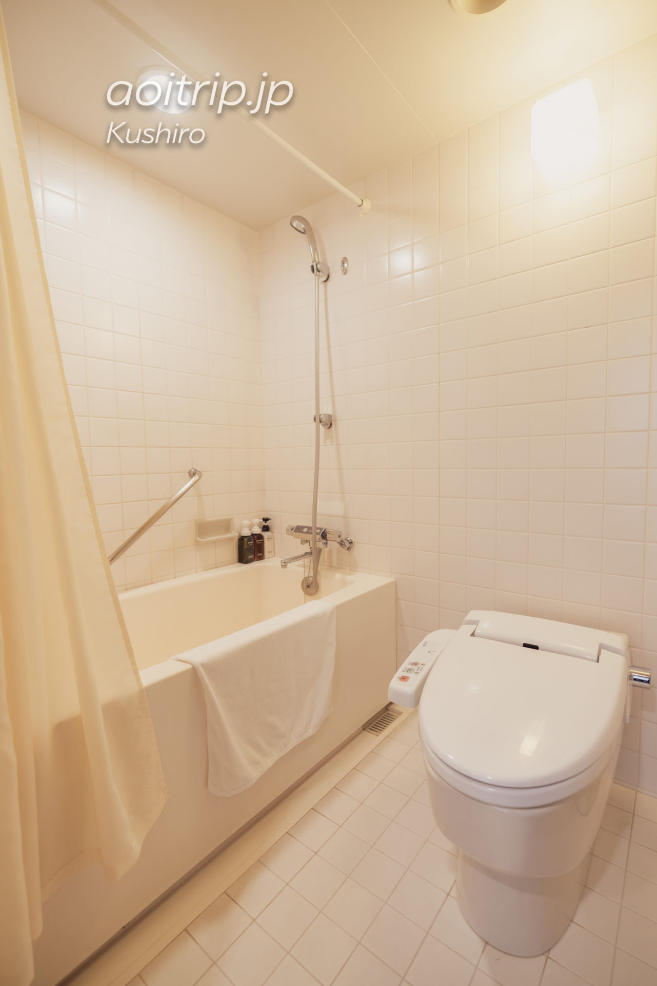 ANAクラウンプラザホテル釧路 ANA Crowne Plaza Hotel Kushiro コーナーツインルームのバスルーム