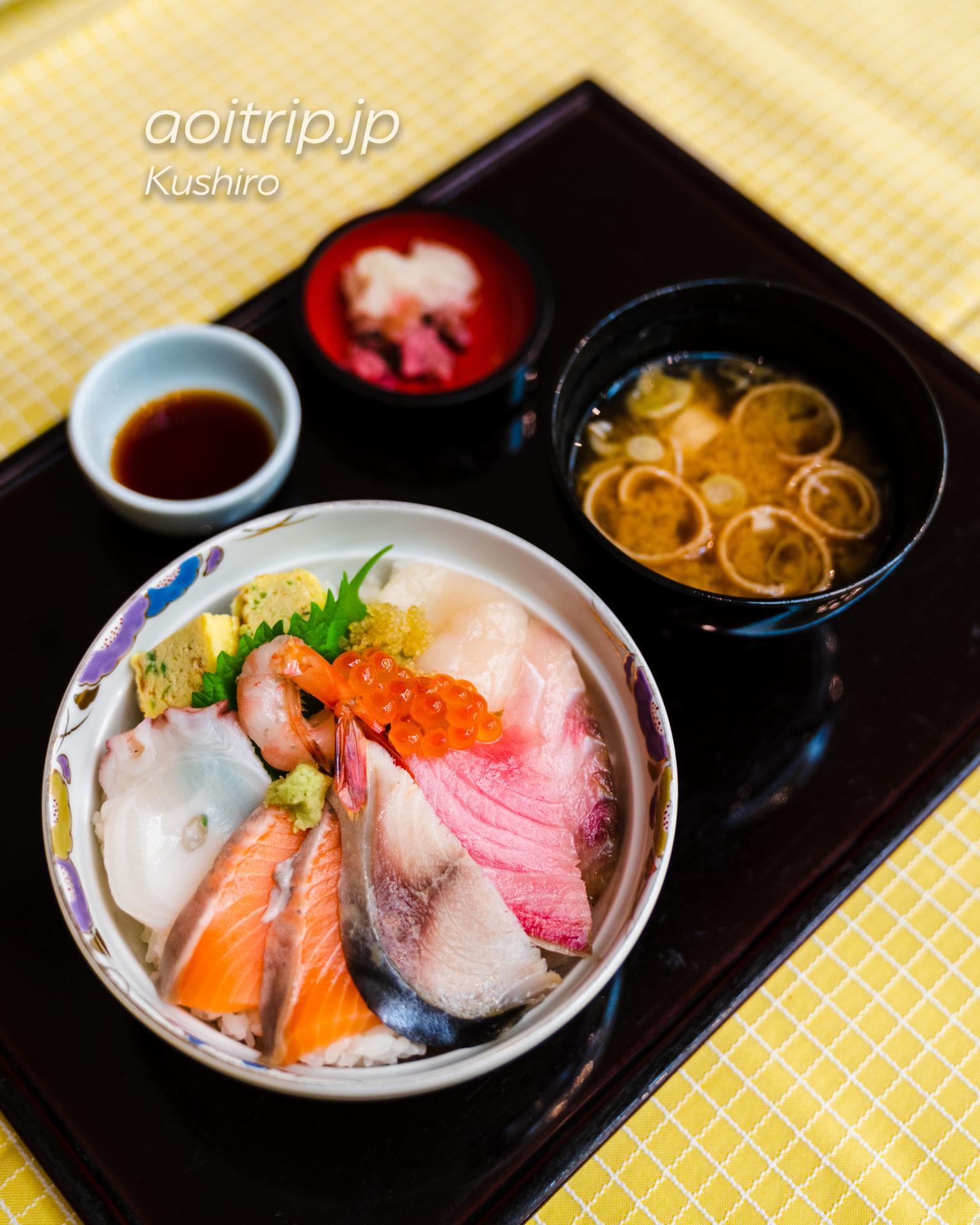ANAクラウンプラザホテル釧路 ANA Crowne Plaza Hotel Kushiro 朝食の海鮮丼