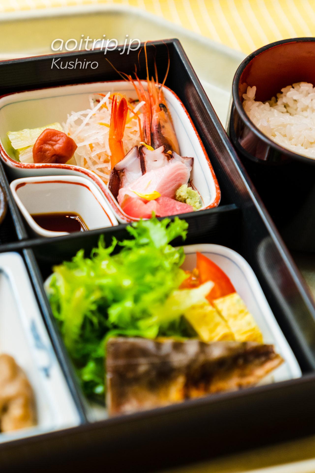 ANAクラウンプラザホテル釧路 ANA Crowne Plaza Hotel Kushiro 朝食の和定食