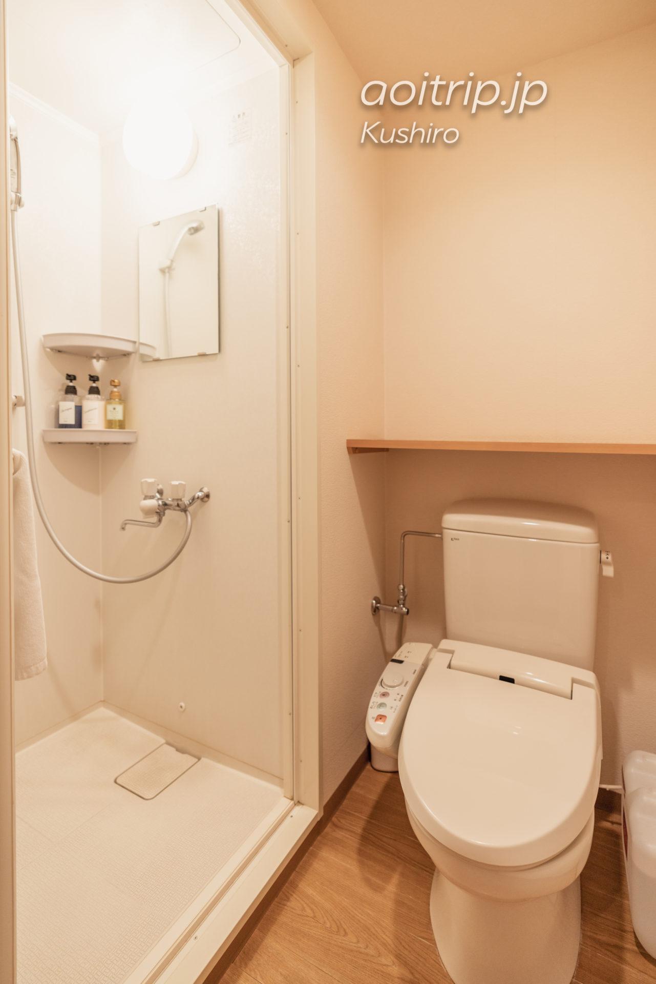 天然温泉 幣舞の湯 ラビスタ釧路川 宿泊記|La Vista Kushirogawa トイレ