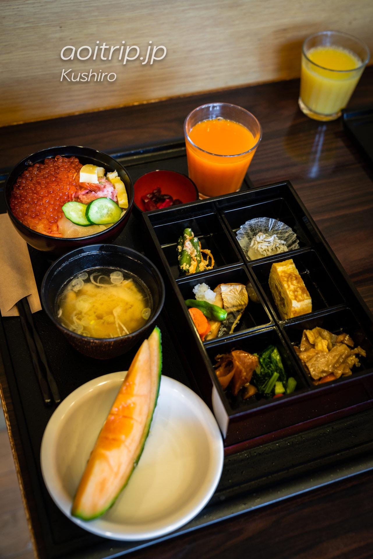 天然温泉 幣舞の湯 ラビスタ釧路川 宿泊記|La Vista Kushirogawa 朝食