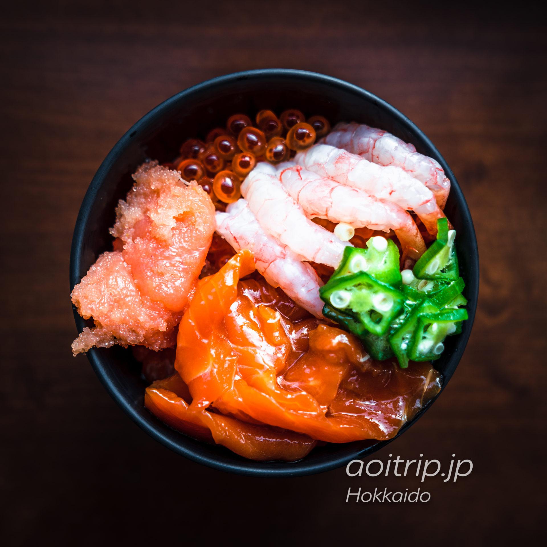 星野リゾートトマム 森のレストラン ニニヌプリの朝食ビュッフェ なまら海鮮丼