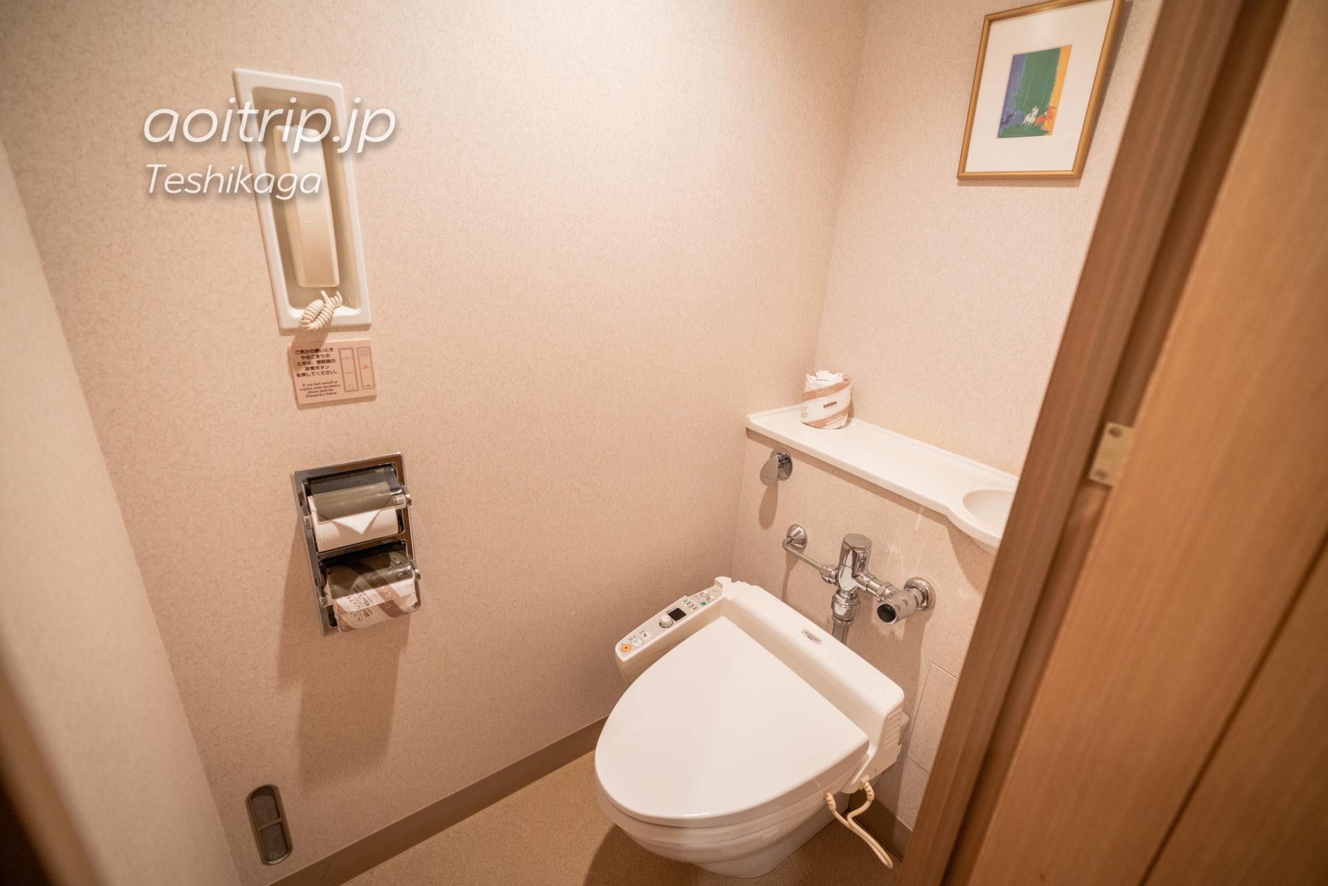 屈斜路プリンスホテル(Kussharo Prince Hotel)のトイレ