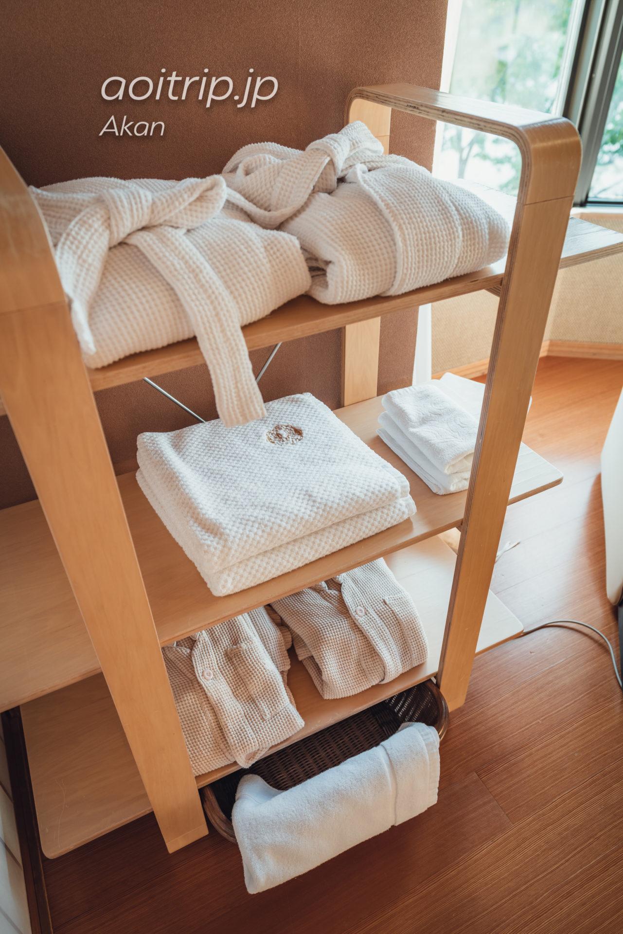 あかん遊久の里 鶴雅【別館】露天風呂付和室2名様用 タオル類