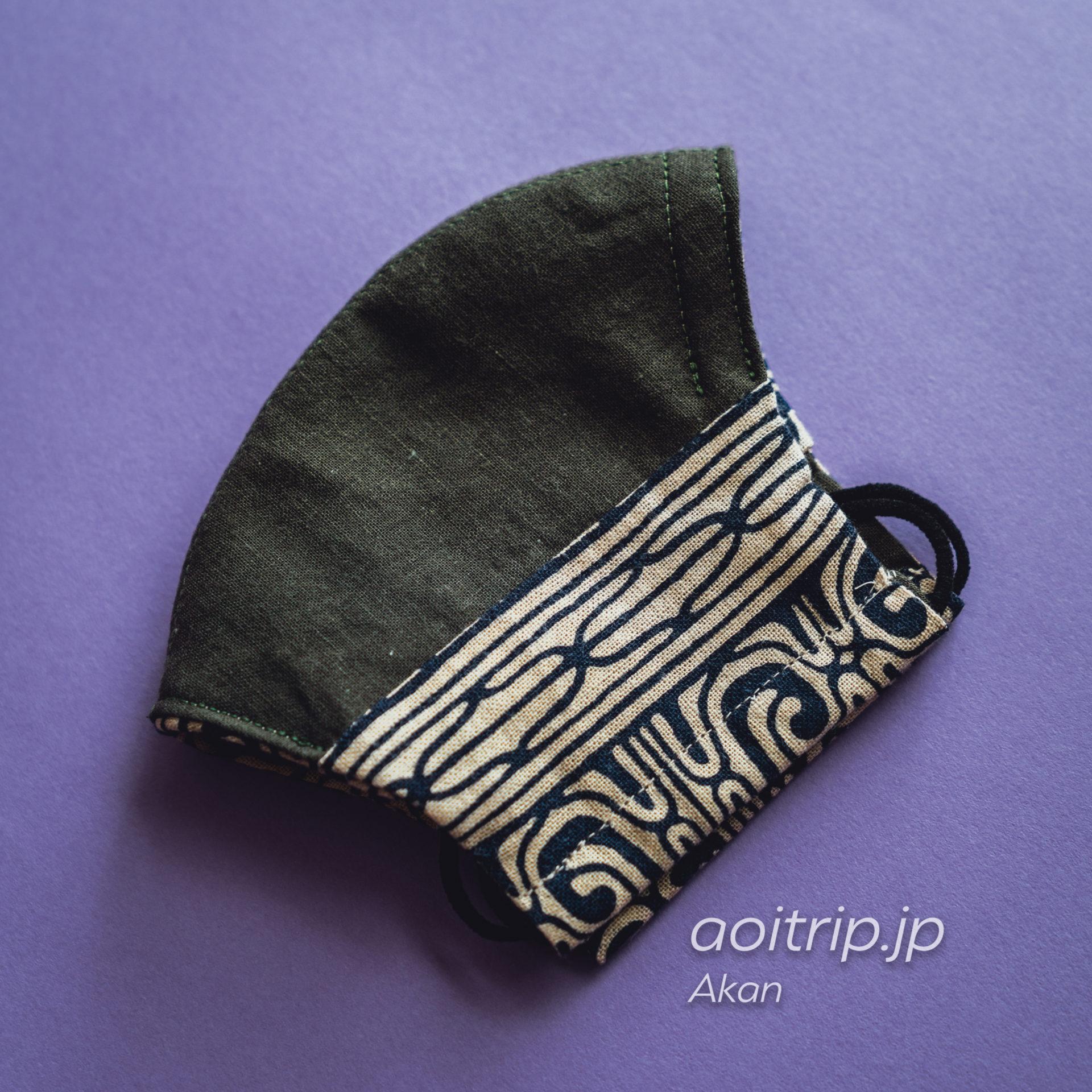 阿寒湖アイヌコタン Ainu Kotan アイヌ文様の手作りマスク