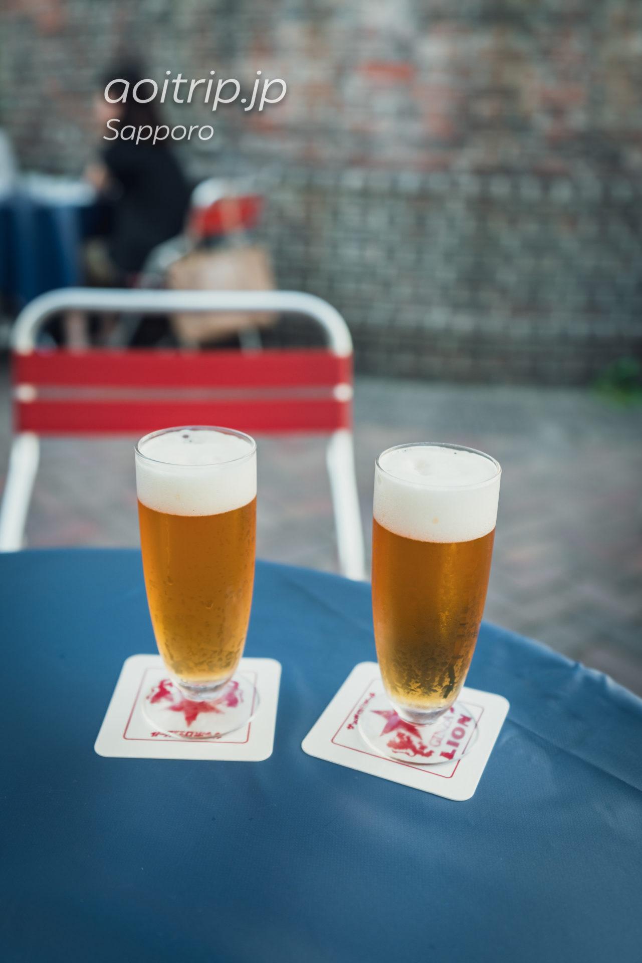 札幌 開拓使麦酒賣捌所の生ビール