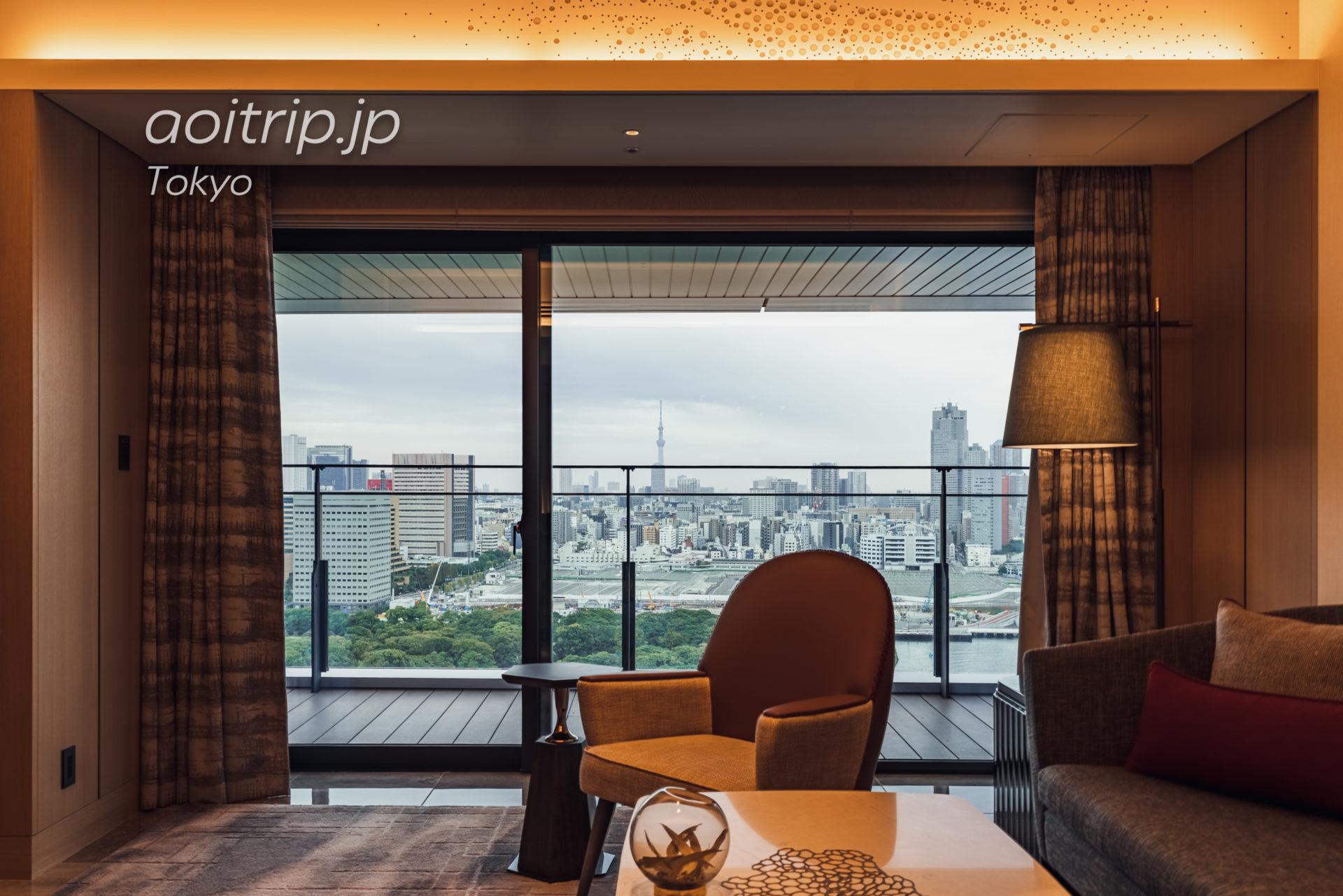 メズム東京のスイートルームChapter 3 Suite