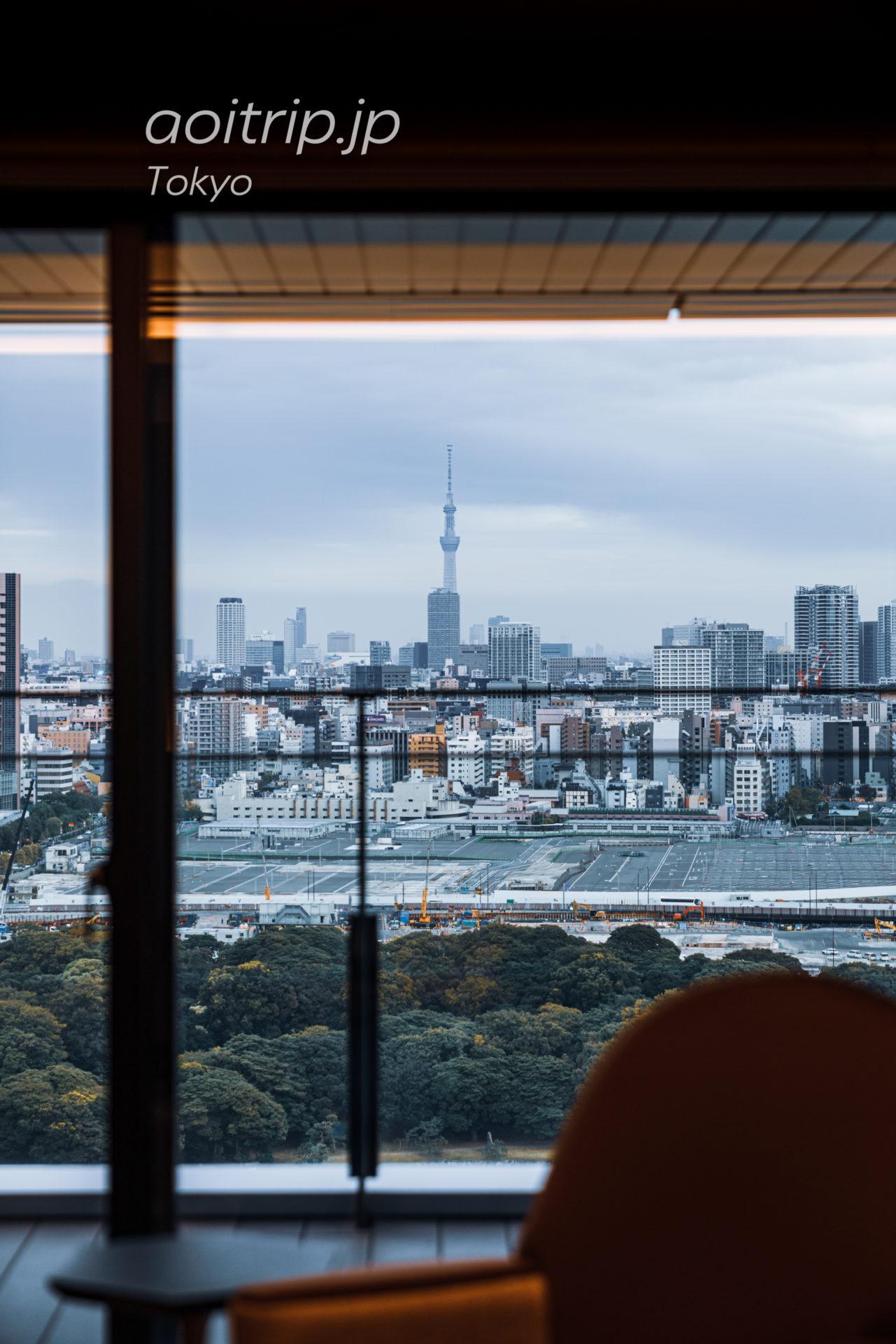 メズム東京 オートグラフコレクション mesm Tokyo, Autograph Collection スイート客室のバルコニー