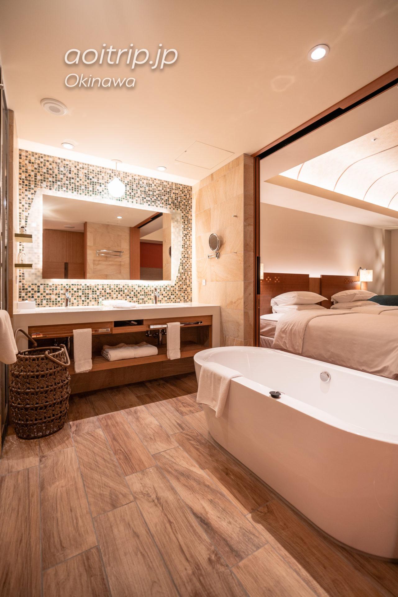 シェラトン沖縄サンマリーナ リゾート Sheraton Okinawa Sunmarina Resort プレミアム オーシャン ツイン オーシャンビュー, サウスタワー Premium Ocean Twin, Guest room バスルーム